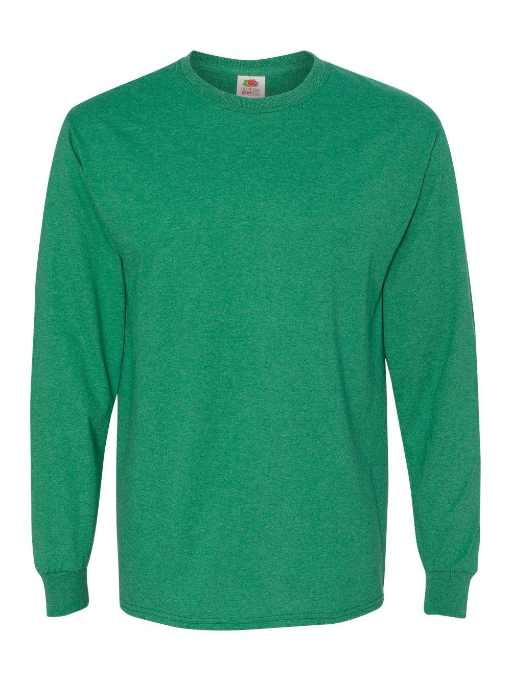 Fruit-of-the-Loom-HD-Cotton-Long-Sleeve-T-Shirt-4930R thumbnail 63