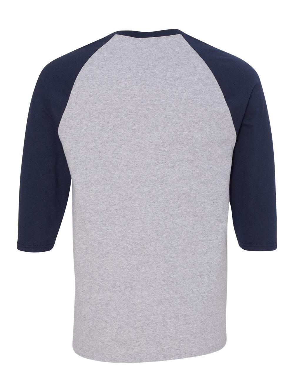 Gildan-Heavy-Cotton-Three-Quarter-Raglan-Sleeve-Baseball-T-Shirt-5700 thumbnail 10