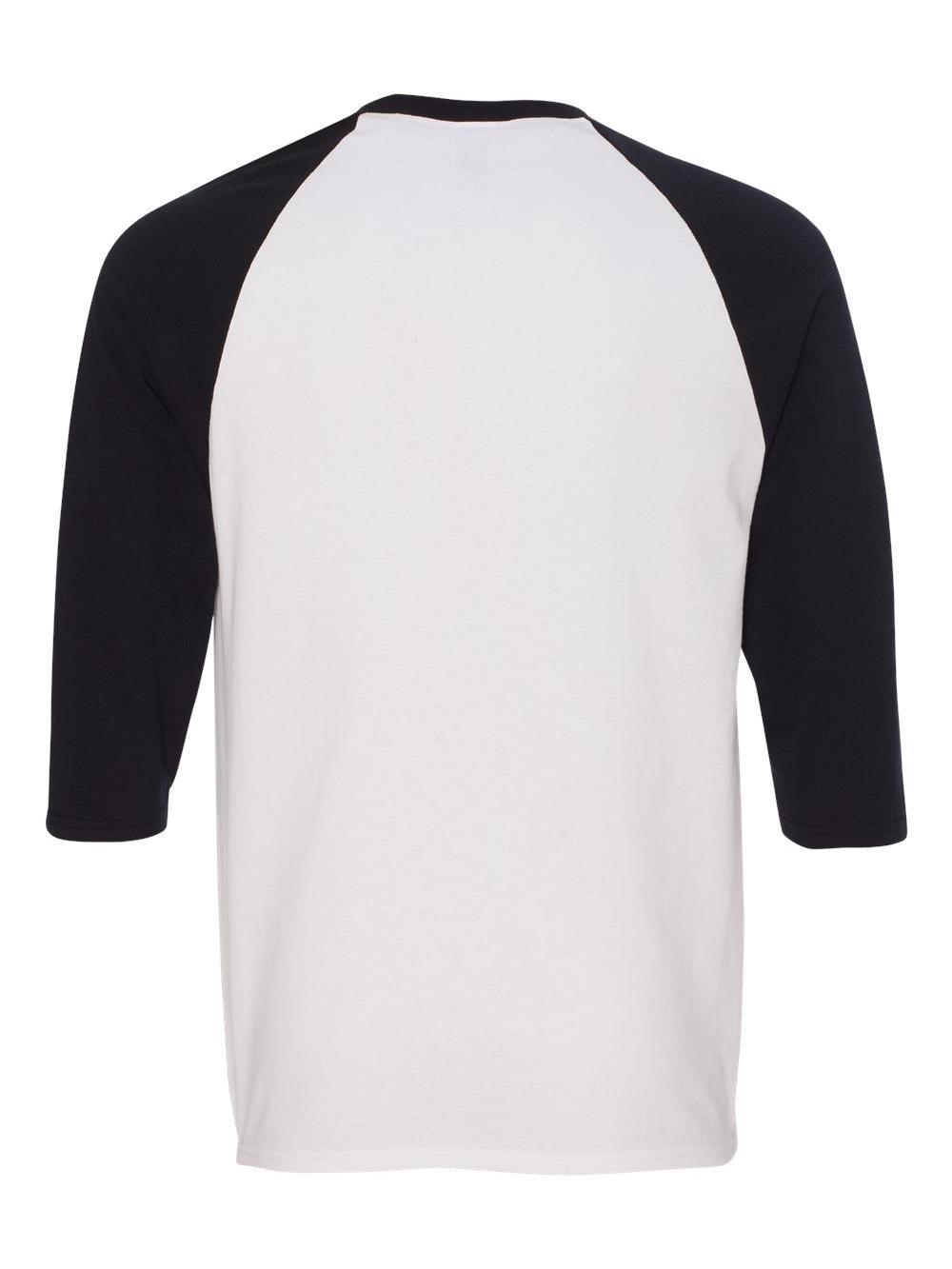 Gildan-Heavy-Cotton-Three-Quarter-Raglan-Sleeve-Baseball-T-Shirt-5700 thumbnail 19