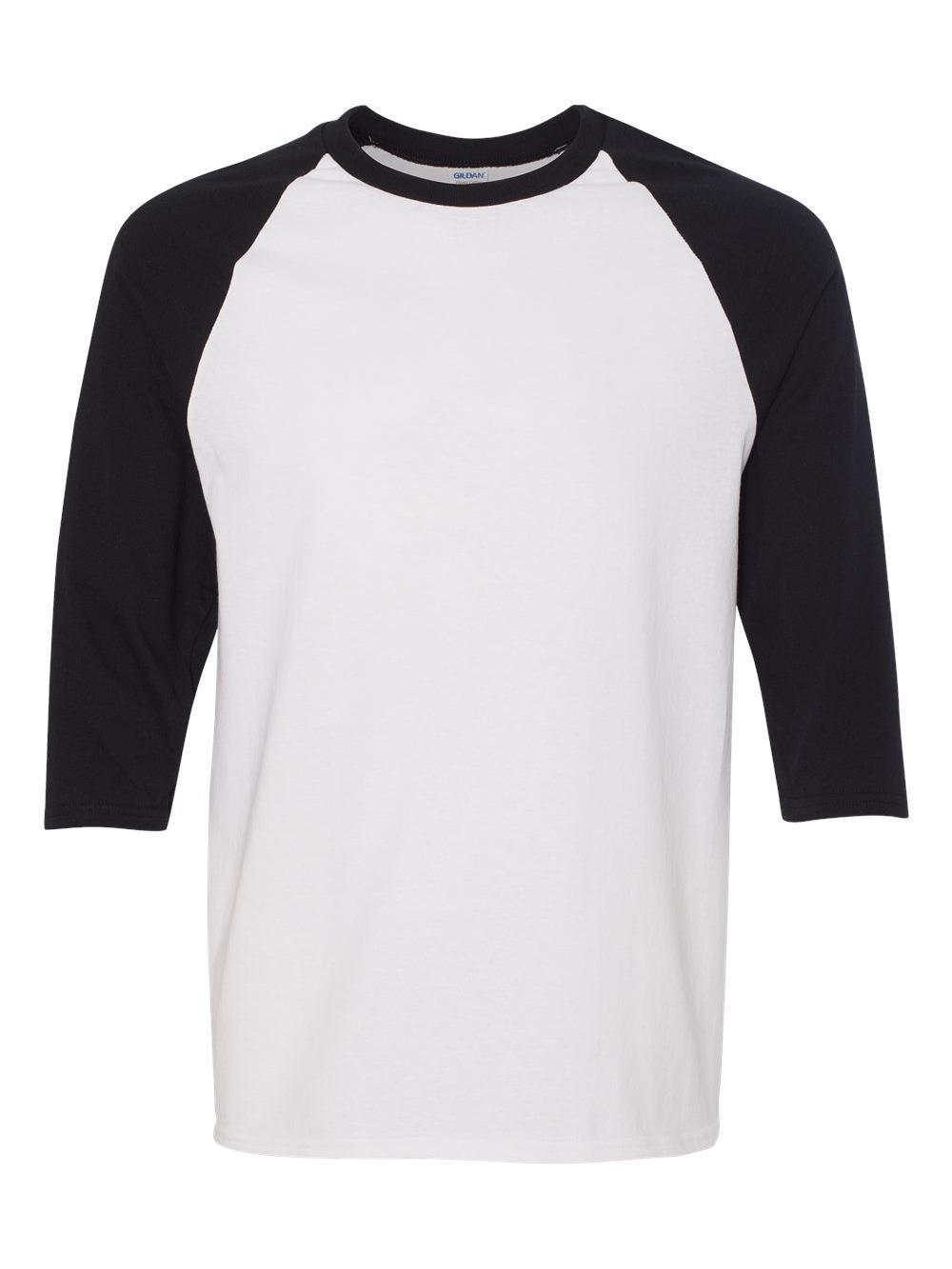 Gildan-Heavy-Cotton-Three-Quarter-Raglan-Sleeve-Baseball-T-Shirt-5700 thumbnail 18