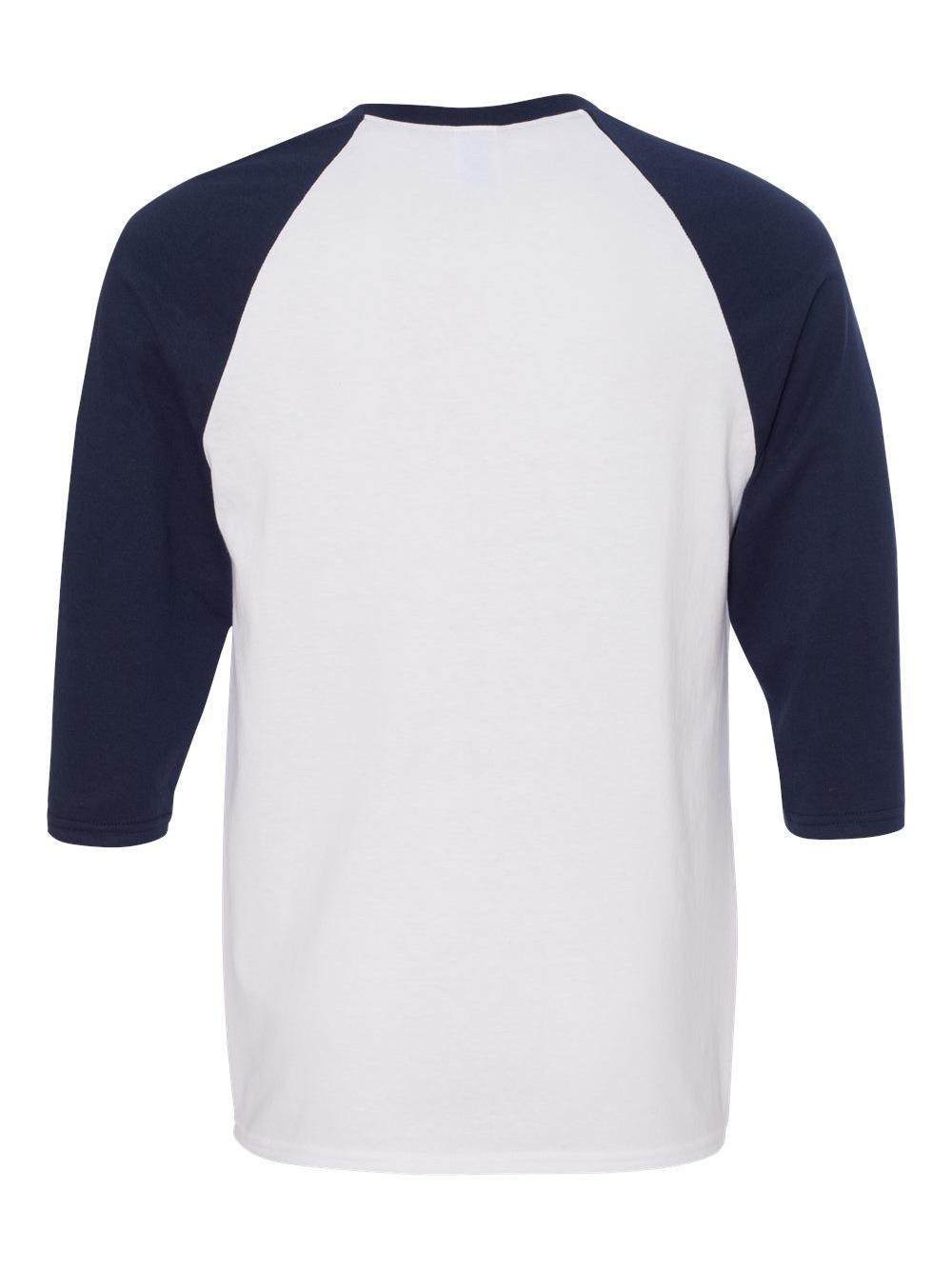 Gildan-Heavy-Cotton-Three-Quarter-Raglan-Sleeve-Baseball-T-Shirt-5700 thumbnail 34
