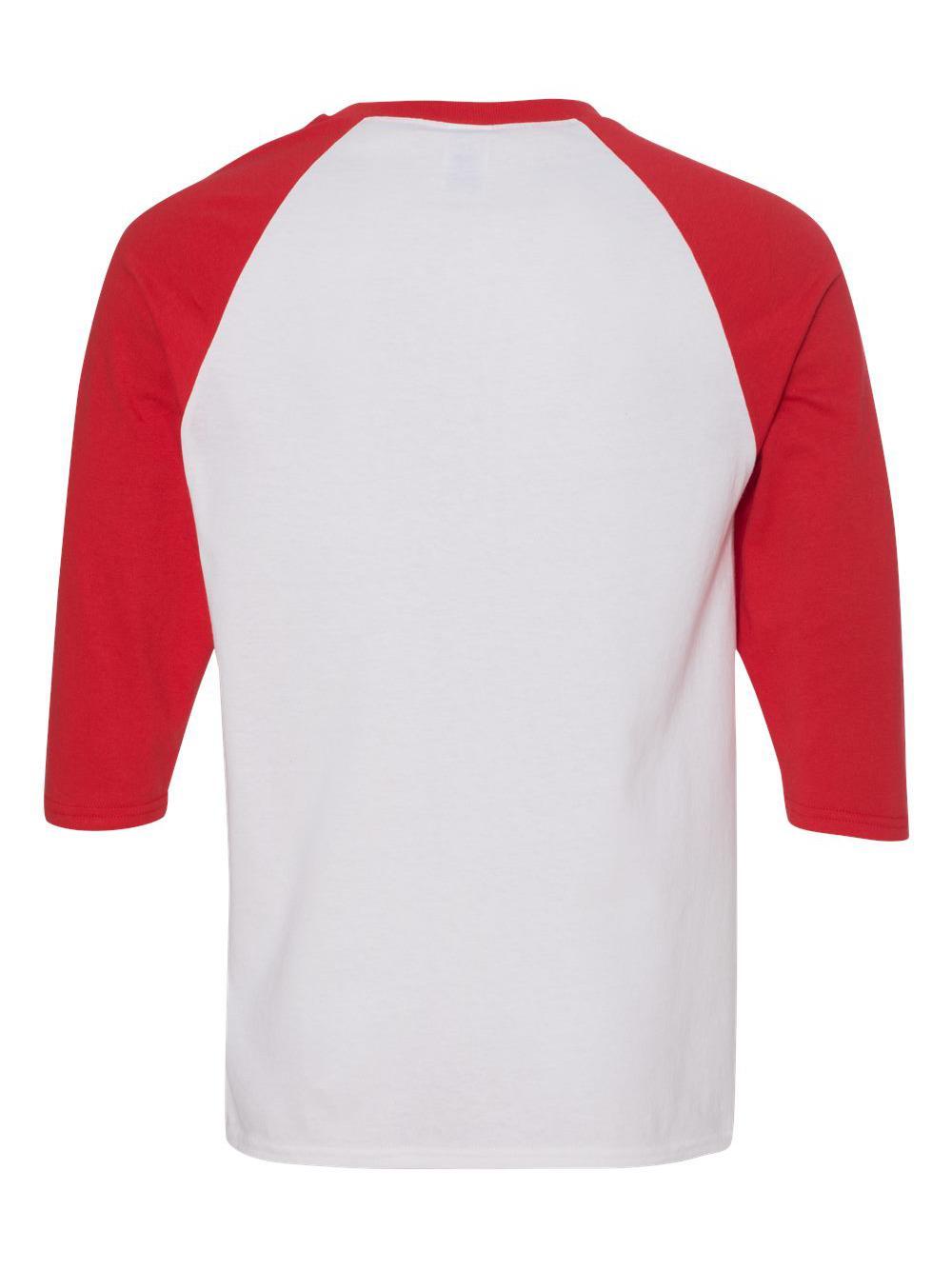 Gildan-Heavy-Cotton-Three-Quarter-Raglan-Sleeve-Baseball-T-Shirt-5700 thumbnail 40