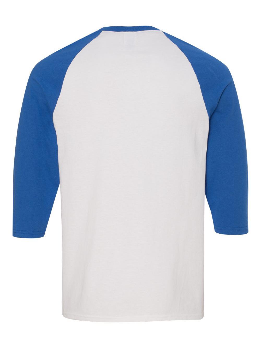 Gildan-Heavy-Cotton-Three-Quarter-Raglan-Sleeve-Baseball-T-Shirt-5700 thumbnail 43