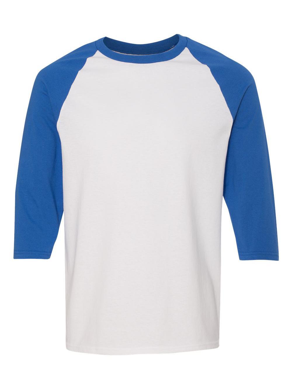 Gildan-Heavy-Cotton-Three-Quarter-Raglan-Sleeve-Baseball-T-Shirt-5700 thumbnail 42