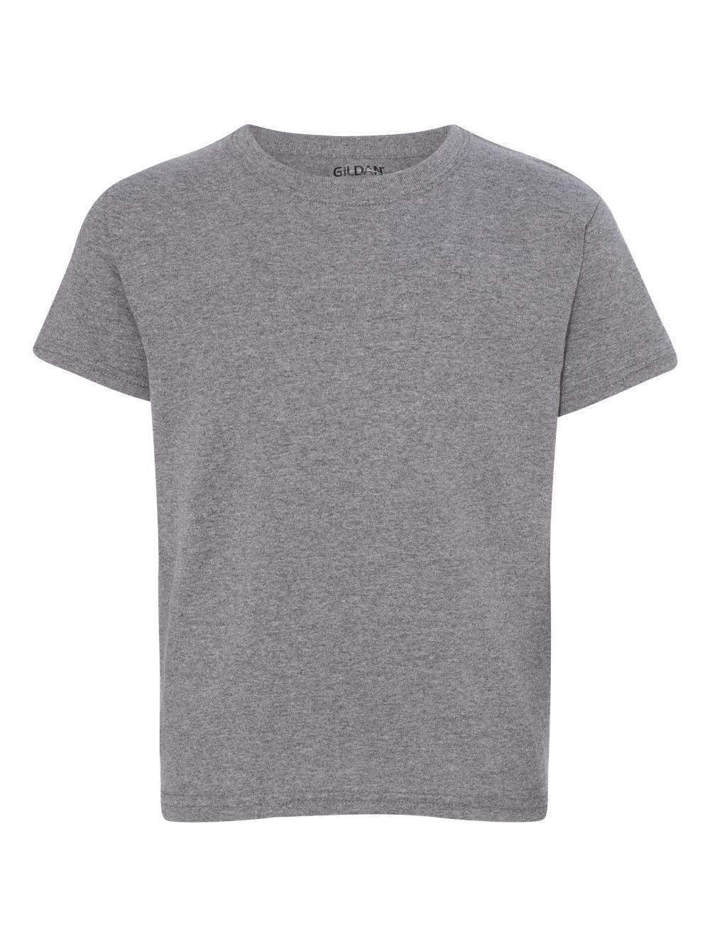 Gildan-DryBlend-Youth-50-50-T-Shirt-8000B thumbnail 30