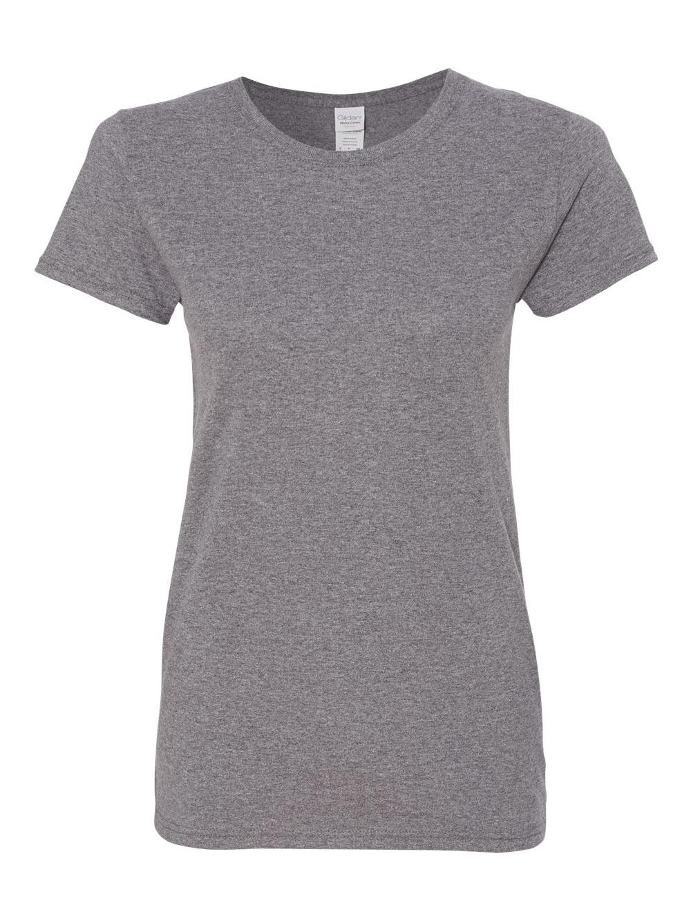 Gildan-Heavy-Cotton-Women-039-s-Short-Sleeve-T-Shirt-5000L thumbnail 42