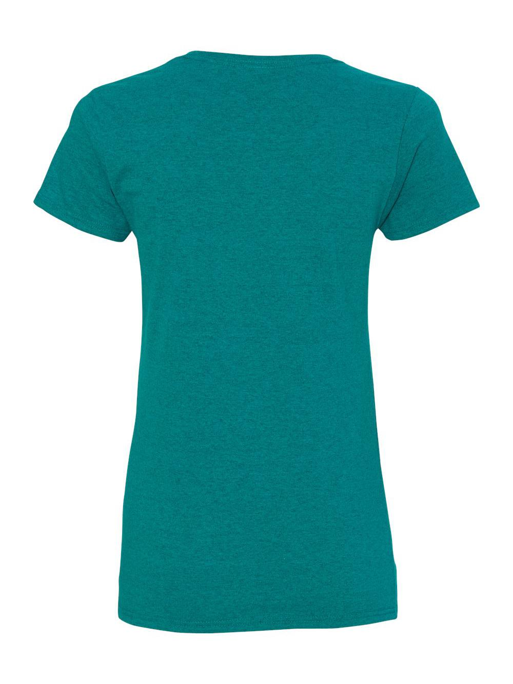 Gildan-Heavy-Cotton-Women-039-s-Short-Sleeve-T-Shirt-5000L thumbnail 7