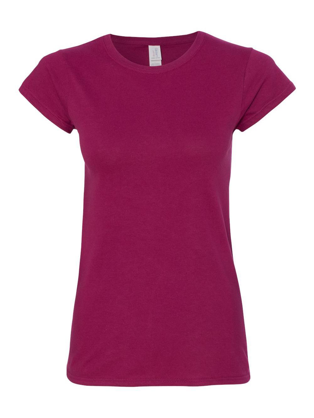 Gildan-Softstyle-Women-039-s-T-Shirt-64000L thumbnail 9