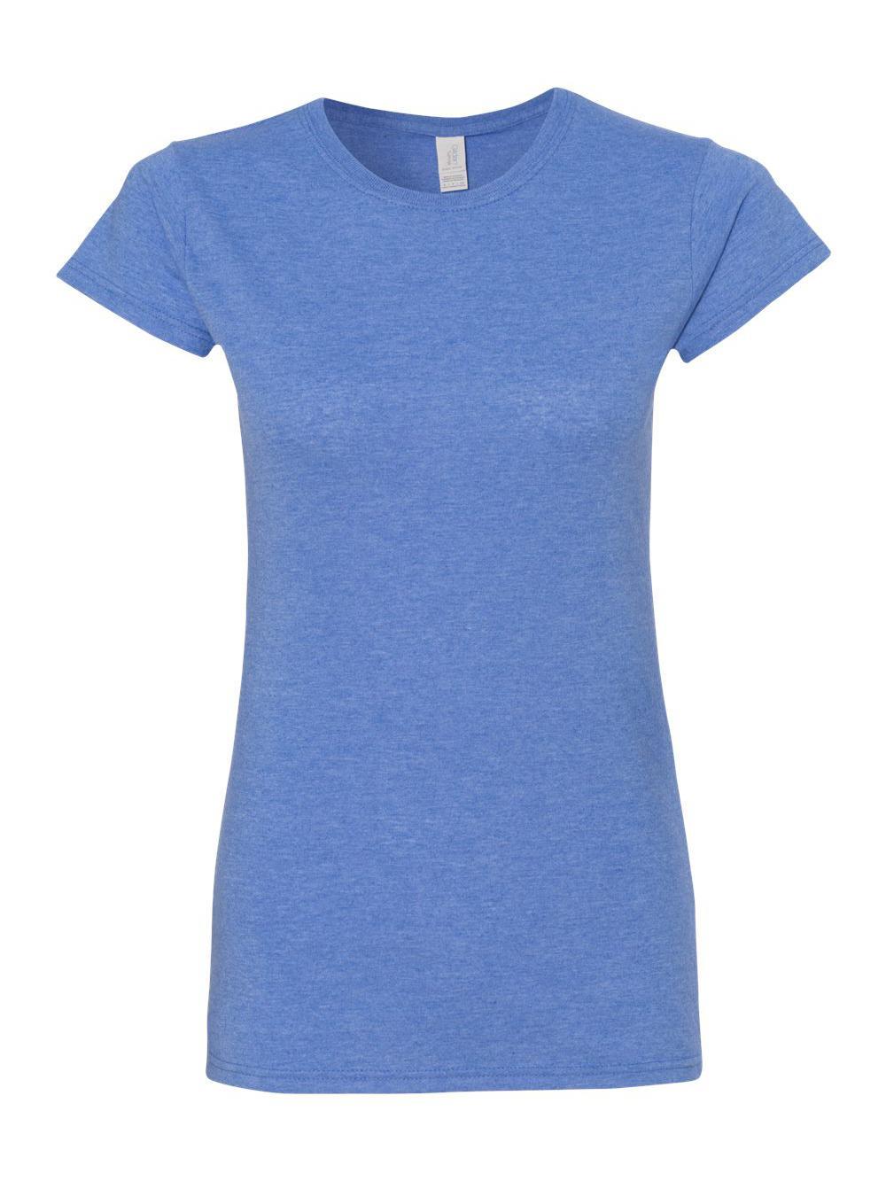 Gildan-Softstyle-Women-039-s-T-Shirt-64000L thumbnail 27
