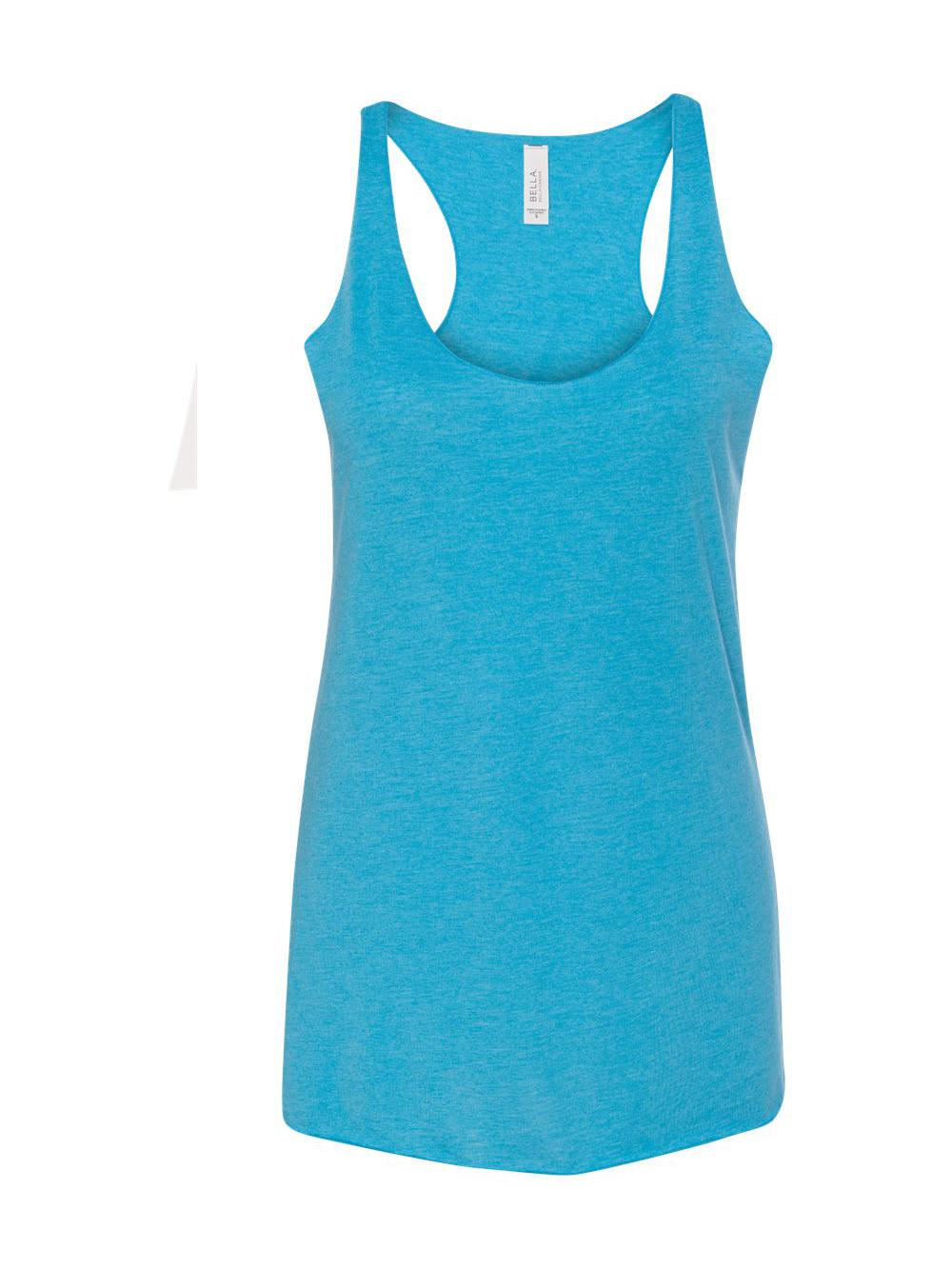 Bella-Canvas-Women-039-s-Triblend-Racerback-Tank-8430 thumbnail 3