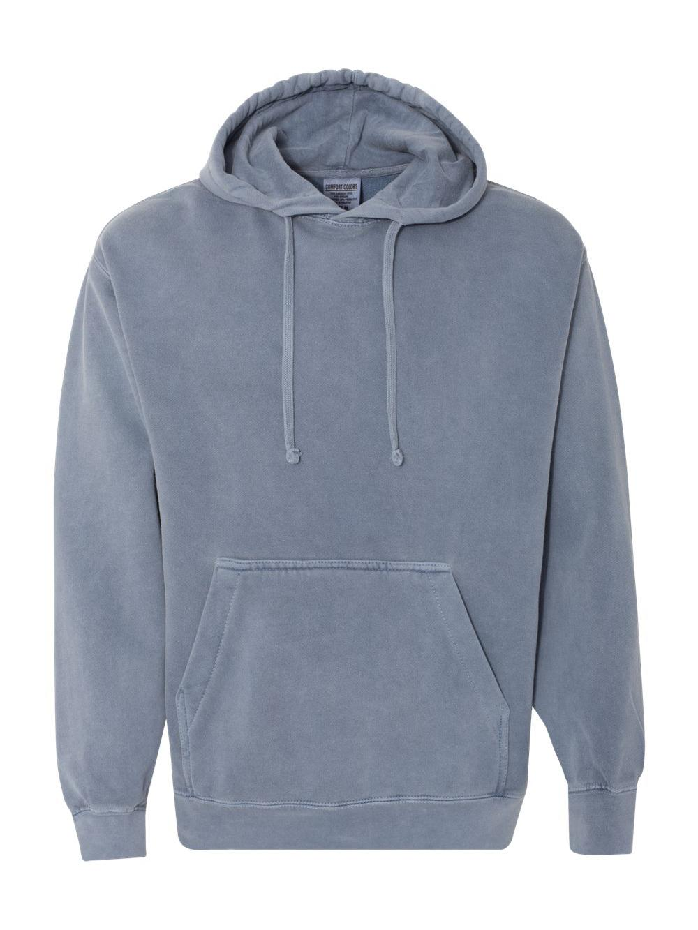 Comfort-Colors-Garment-Dyed-Hooded-Pullover-Sweatshirt-1567 thumbnail 3