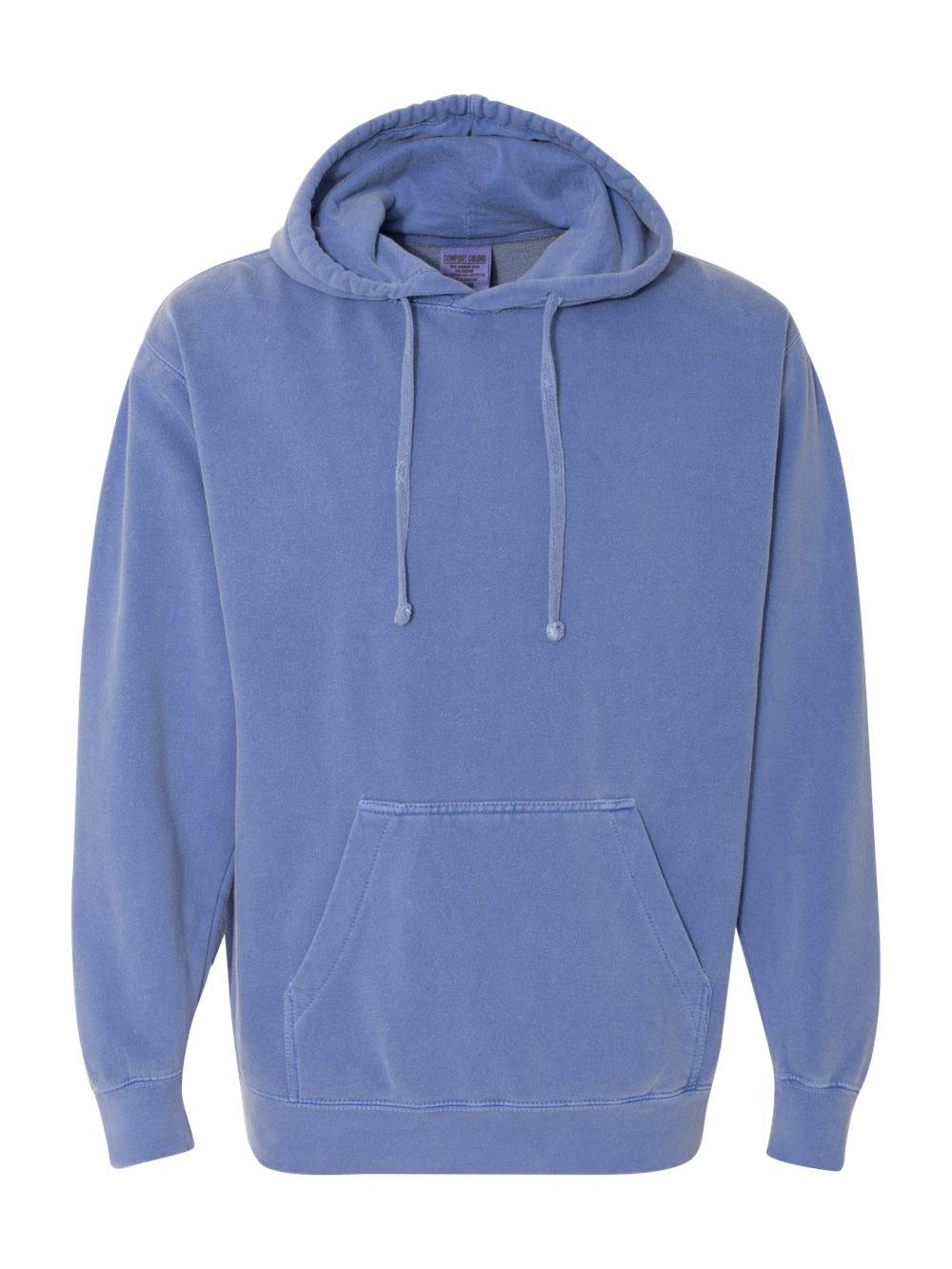 Comfort-Colors-Garment-Dyed-Hooded-Pullover-Sweatshirt-1567 thumbnail 15