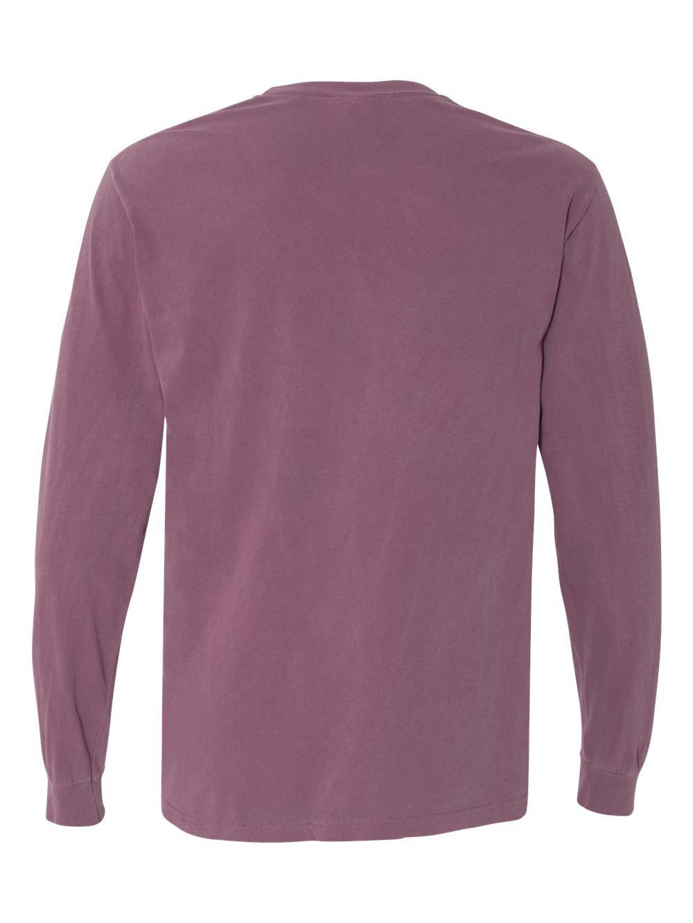 Comfort-Colors-Garment-Dyed-Heavyweight-Ringspun-Long-Sleeve-T-Shirt-6014 thumbnail 4