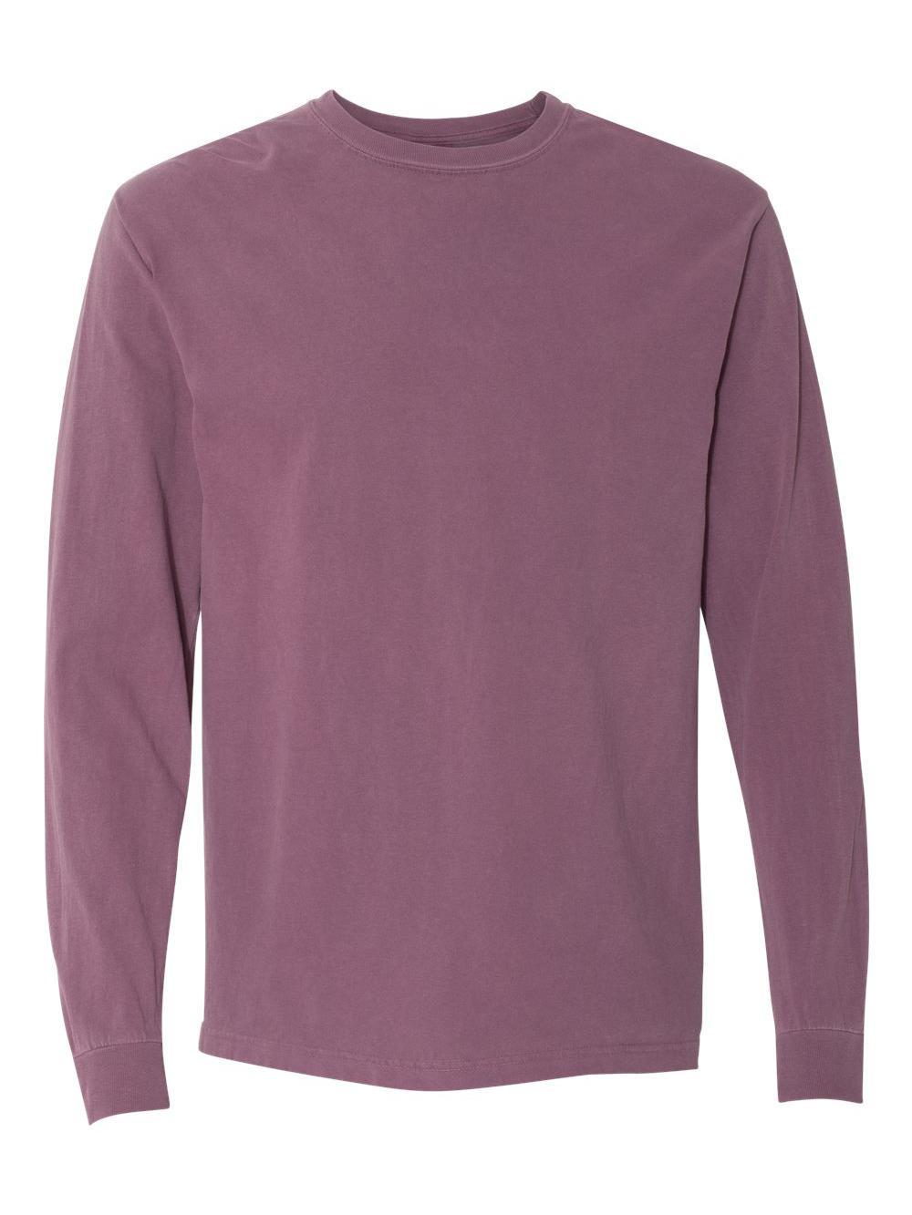 Comfort-Colors-Garment-Dyed-Heavyweight-Ringspun-Long-Sleeve-T-Shirt-6014 thumbnail 3