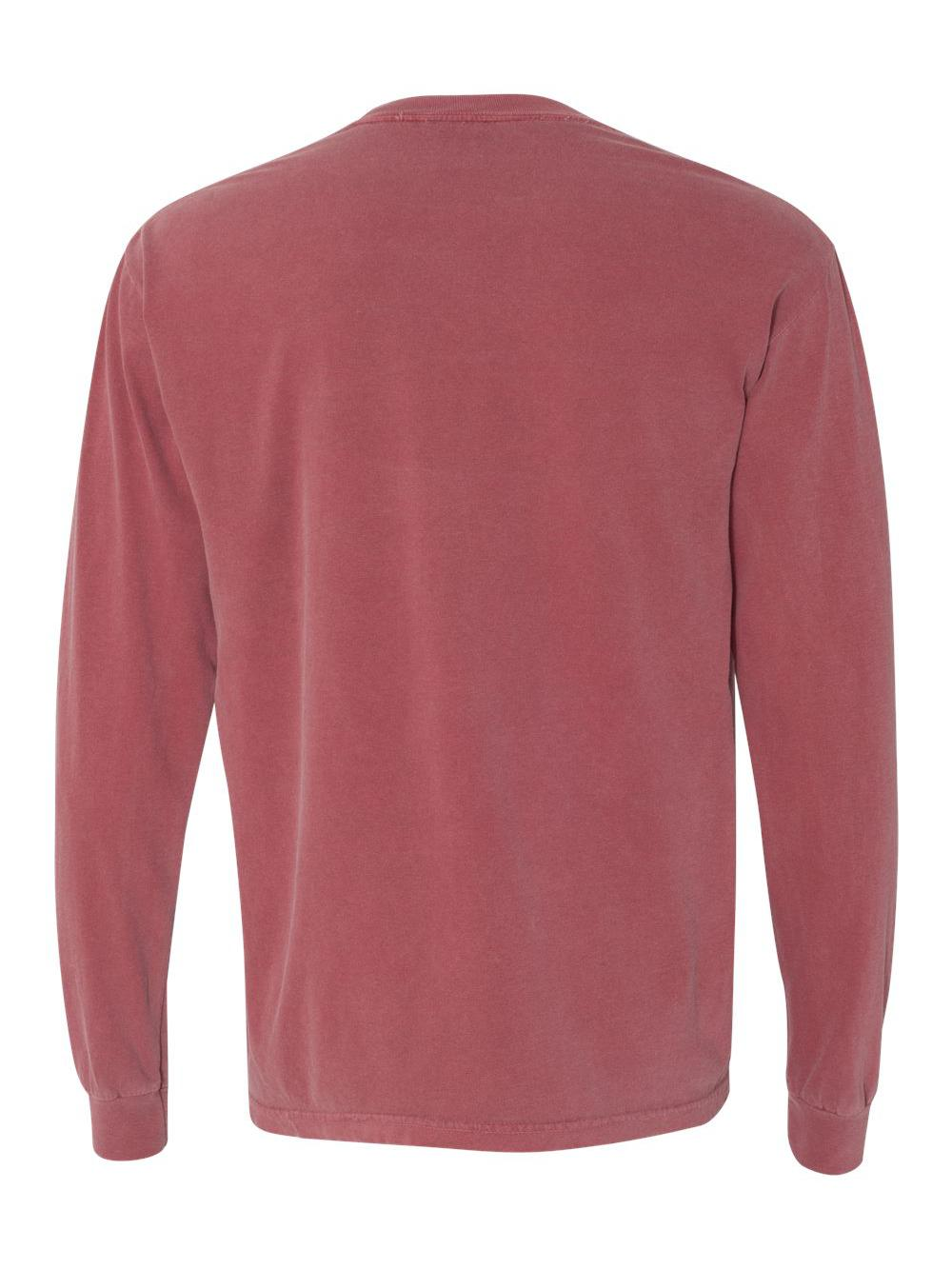 Comfort-Colors-Garment-Dyed-Heavyweight-Ringspun-Long-Sleeve-T-Shirt-6014 thumbnail 16