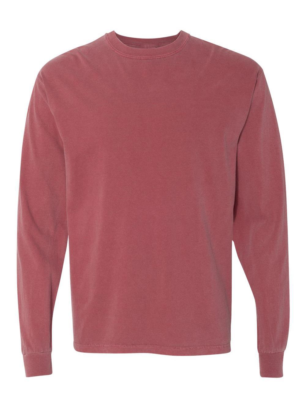 Comfort-Colors-Garment-Dyed-Heavyweight-Ringspun-Long-Sleeve-T-Shirt-6014 thumbnail 15
