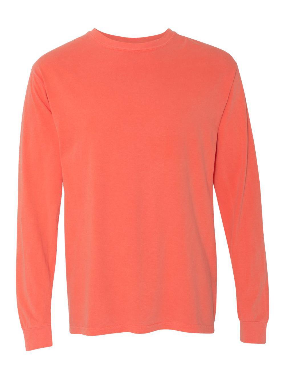 Comfort-Colors-Garment-Dyed-Heavyweight-Ringspun-Long-Sleeve-T-Shirt-6014 thumbnail 18