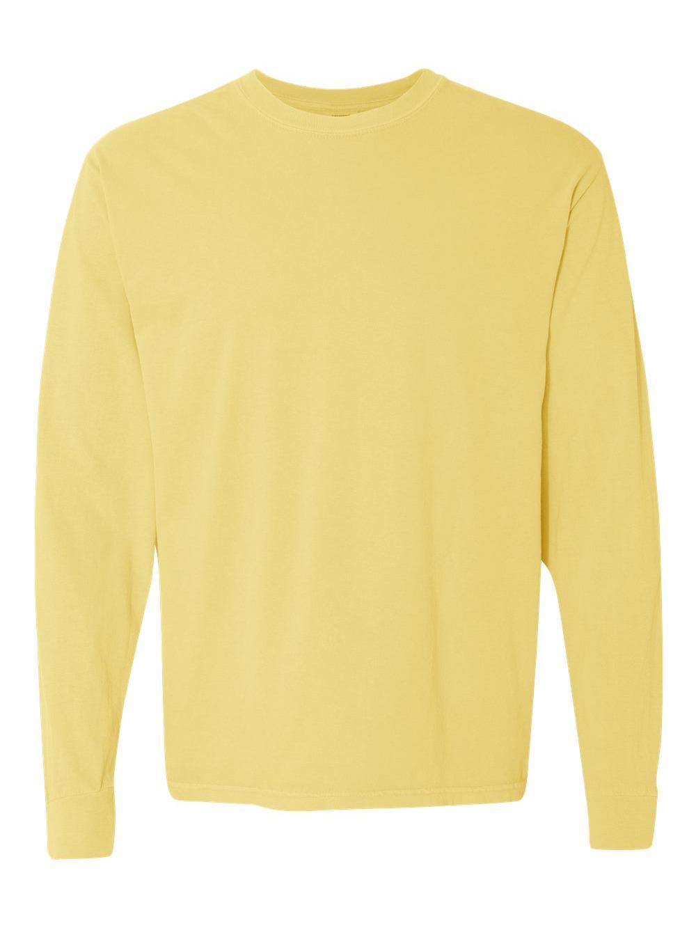 Comfort-Colors-Garment-Dyed-Heavyweight-Ringspun-Long-Sleeve-T-Shirt-6014 thumbnail 21