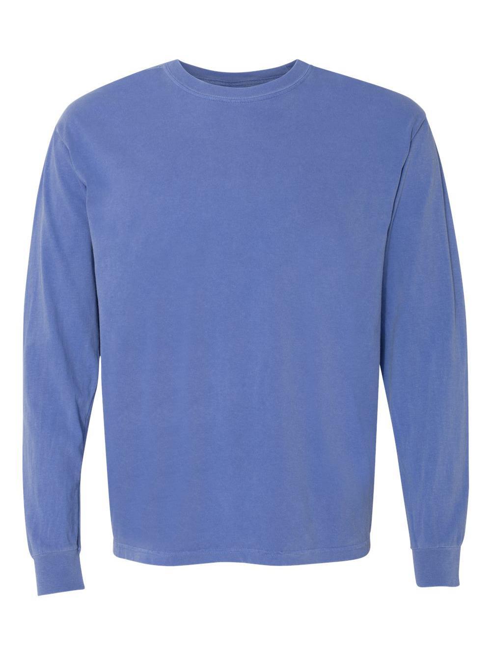 Comfort-Colors-Garment-Dyed-Heavyweight-Ringspun-Long-Sleeve-T-Shirt-6014 thumbnail 33