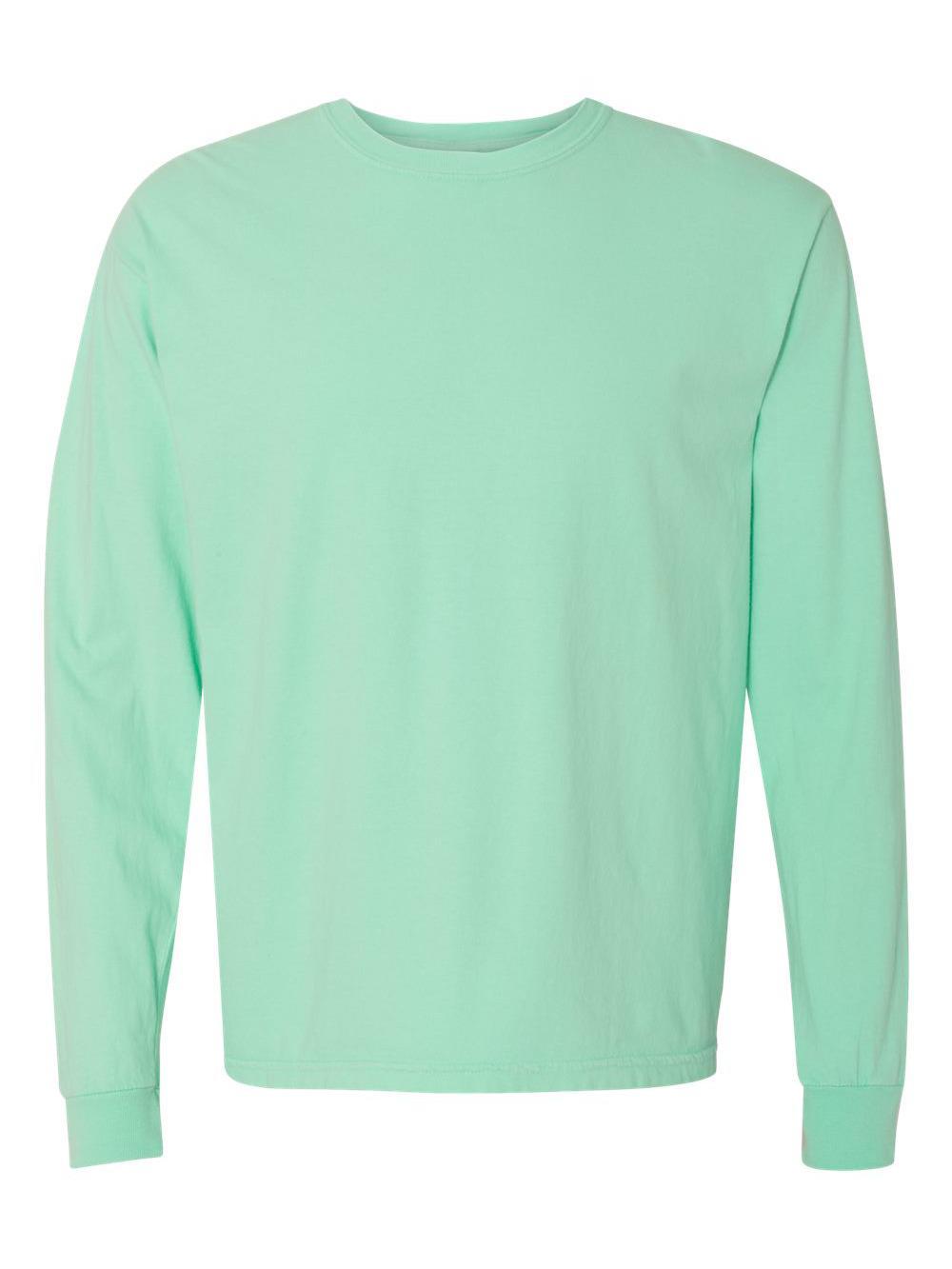 Comfort-Colors-Garment-Dyed-Heavyweight-Ringspun-Long-Sleeve-T-Shirt-6014 thumbnail 42
