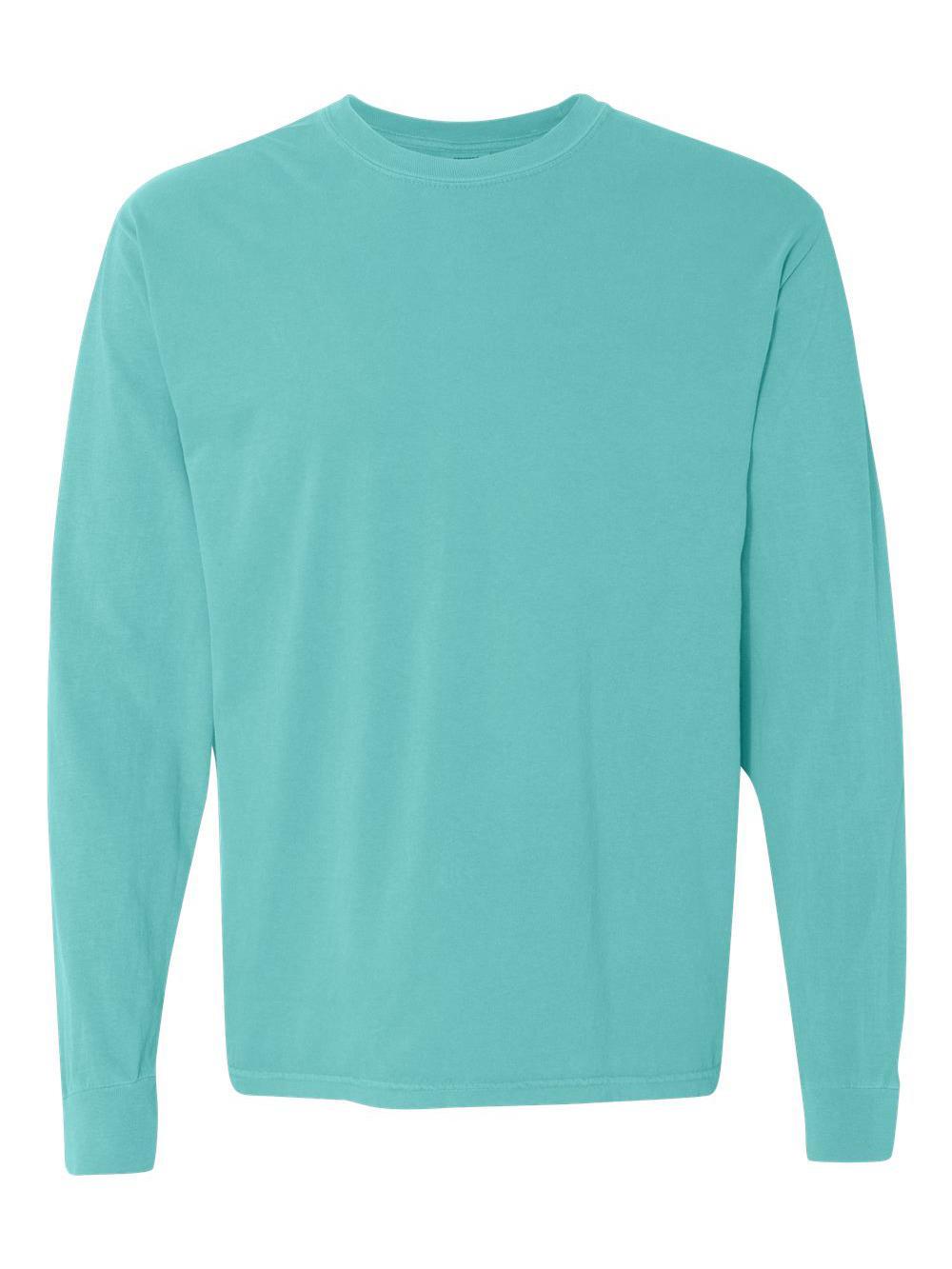 Comfort-Colors-Garment-Dyed-Heavyweight-Ringspun-Long-Sleeve-T-Shirt-6014 thumbnail 45