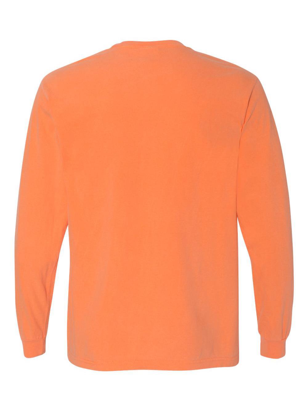 Comfort-Colors-Garment-Dyed-Heavyweight-Ringspun-Long-Sleeve-T-Shirt-6014 thumbnail 49