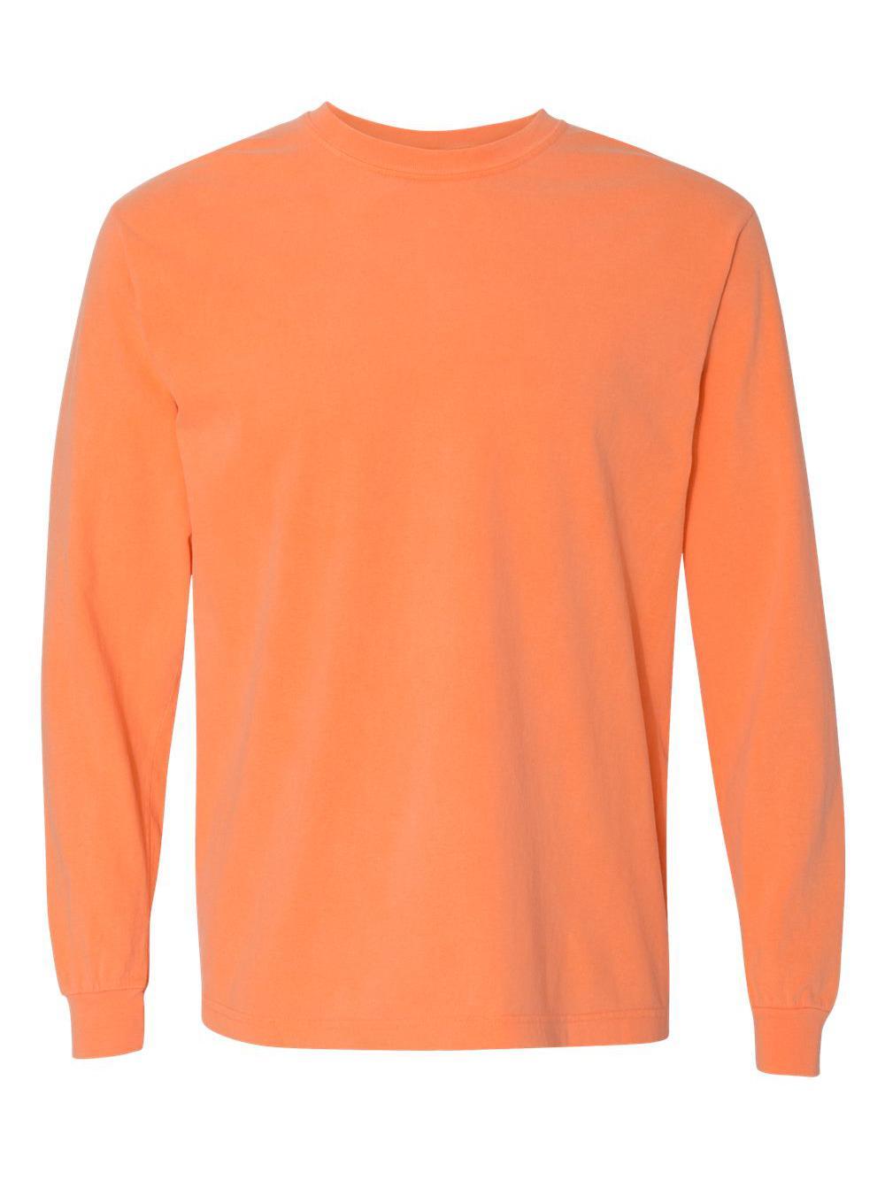 Comfort-Colors-Garment-Dyed-Heavyweight-Ringspun-Long-Sleeve-T-Shirt-6014 thumbnail 48
