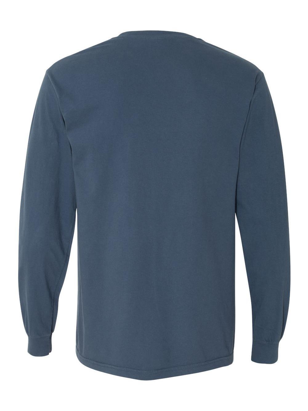 Comfort-Colors-Garment-Dyed-Heavyweight-Ringspun-Long-Sleeve-T-Shirt-6014 thumbnail 52