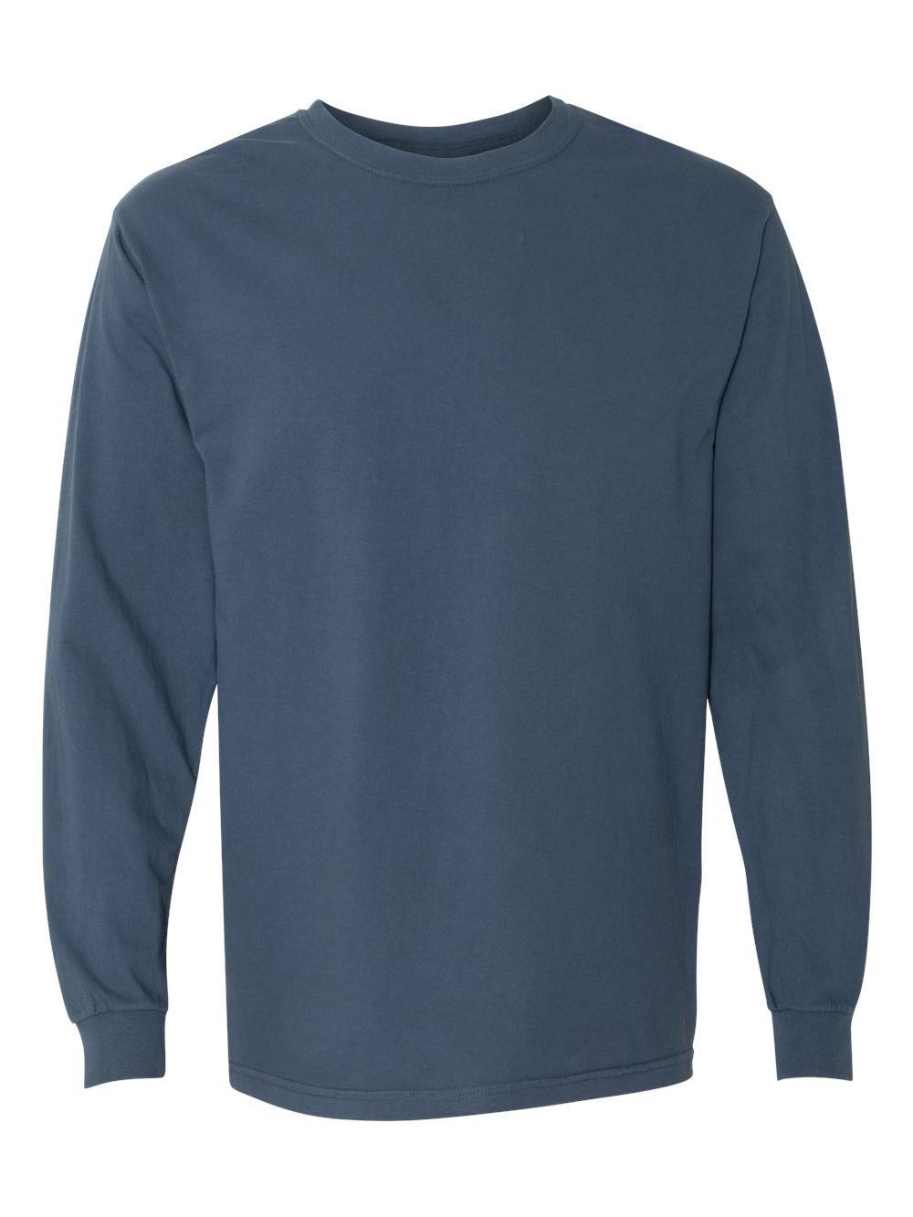 Comfort-Colors-Garment-Dyed-Heavyweight-Ringspun-Long-Sleeve-T-Shirt-6014 thumbnail 51