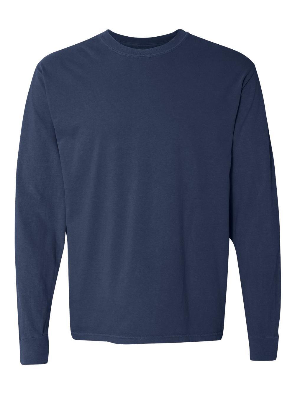 Comfort-Colors-Garment-Dyed-Heavyweight-Ringspun-Long-Sleeve-T-Shirt-6014 thumbnail 63