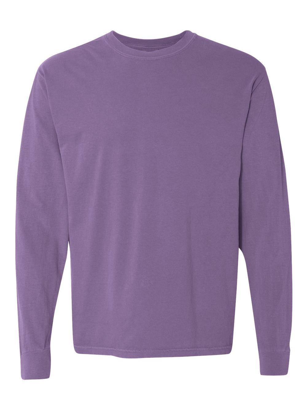 Comfort-Colors-Garment-Dyed-Heavyweight-Ringspun-Long-Sleeve-T-Shirt-6014 thumbnail 66