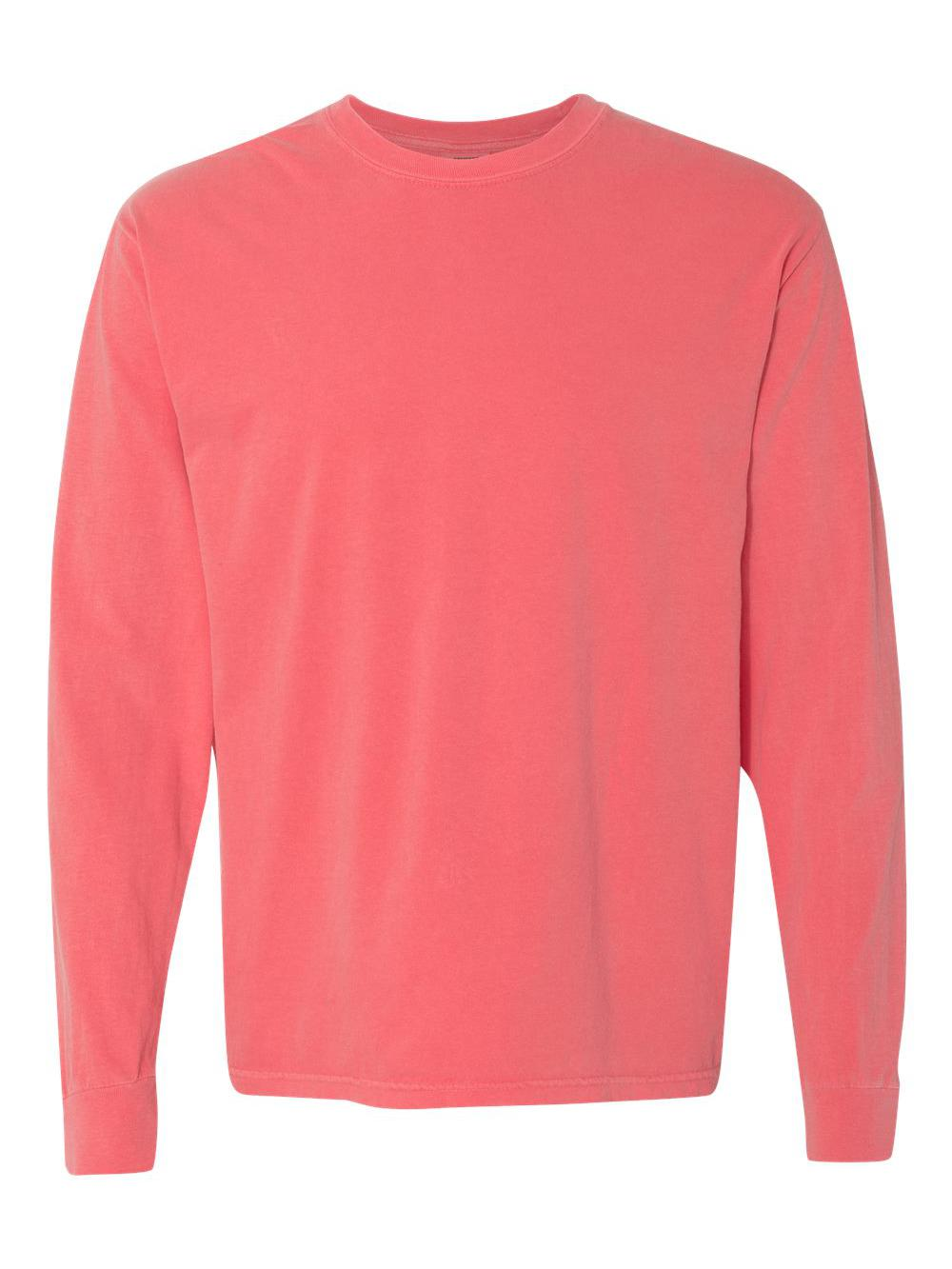 Comfort-Colors-Garment-Dyed-Heavyweight-Ringspun-Long-Sleeve-T-Shirt-6014 thumbnail 69