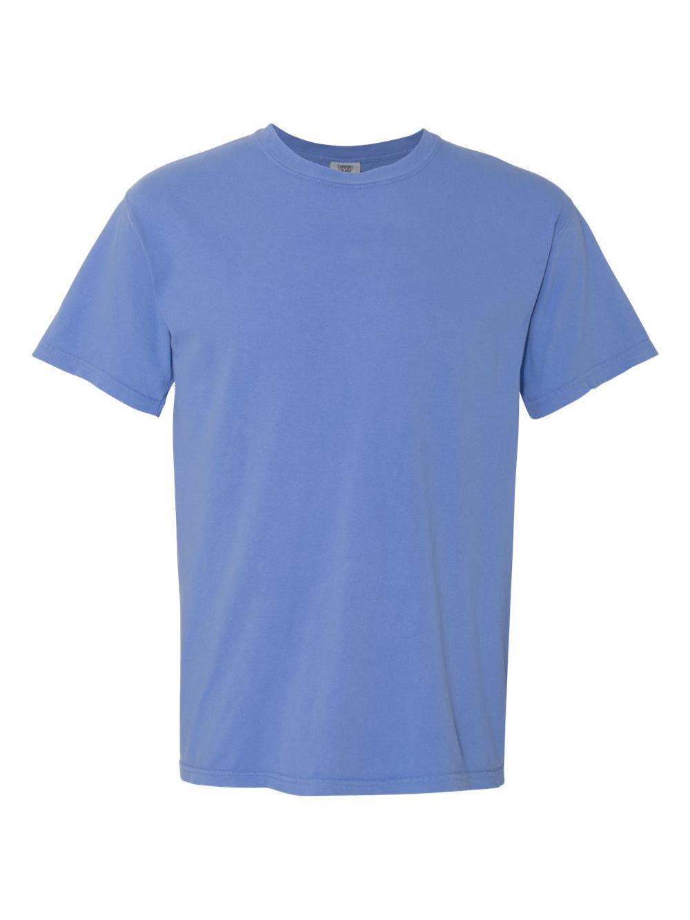 Comfort-Colors-Garment-Dyed-Heavyweight-Ringspun-Short-Sleeve-Shirt-1717 thumbnail 93