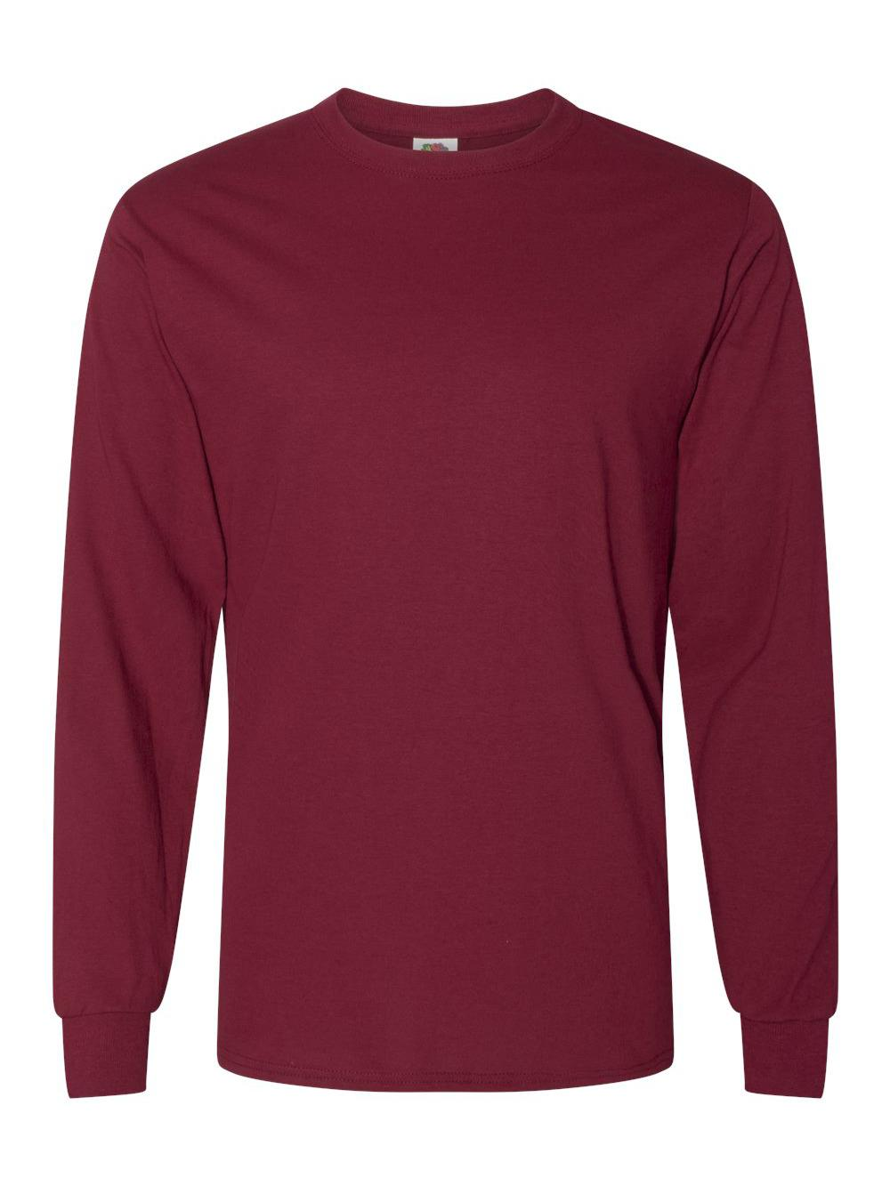 Fruit-of-the-Loom-HD-Cotton-Long-Sleeve-T-Shirt-4930R thumbnail 18
