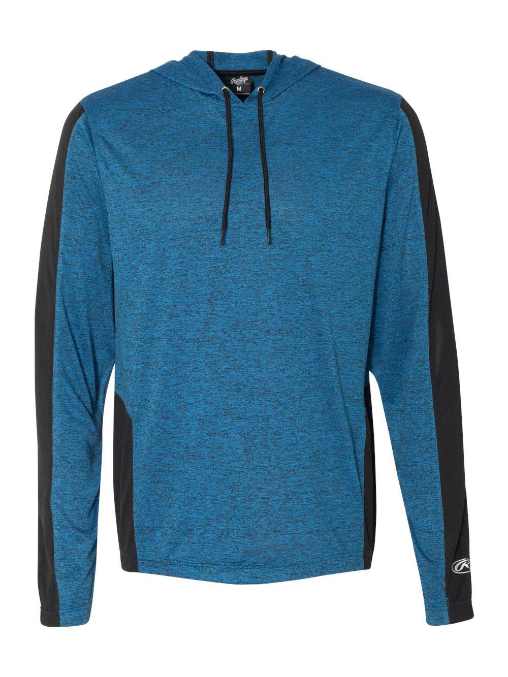 Rawlings-Performance-Cationic-Hooded-Pullover-T-Shirt-8199 thumbnail 9