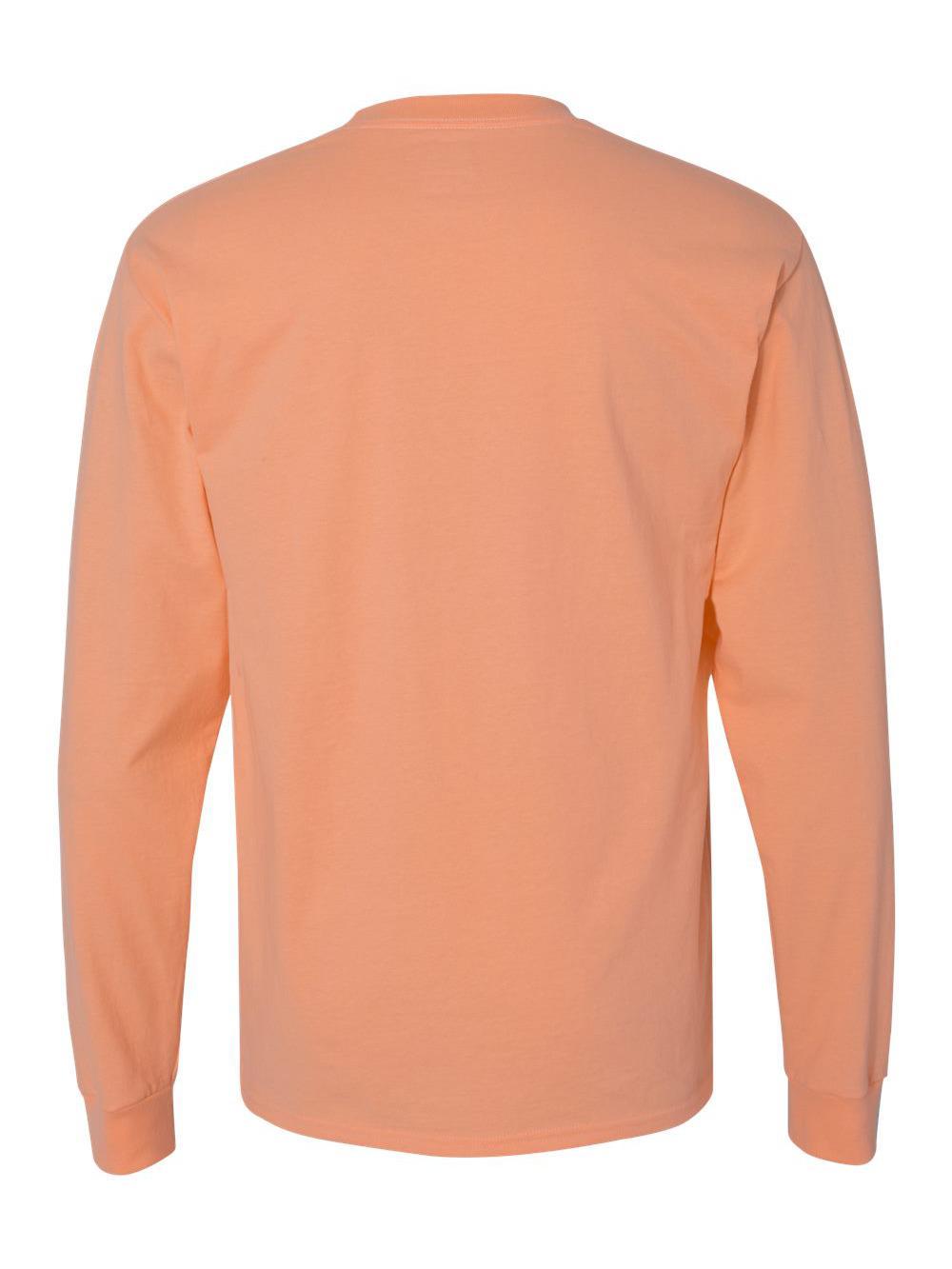 Hanes-Beefy-T-Long-Sleeve-T-Shirt-5186 thumbnail 13