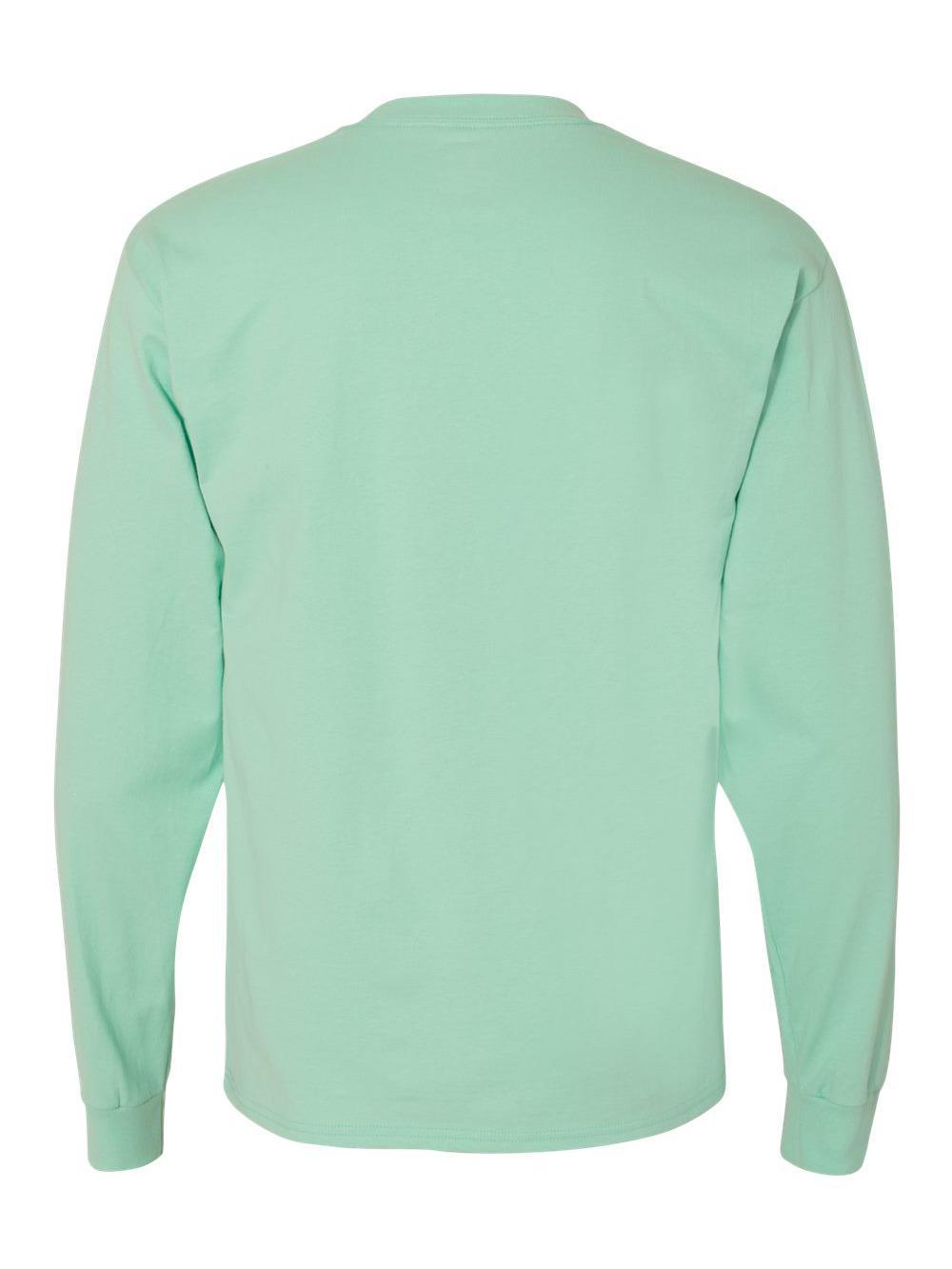 Hanes-Beefy-T-Long-Sleeve-T-Shirt-5186 thumbnail 22
