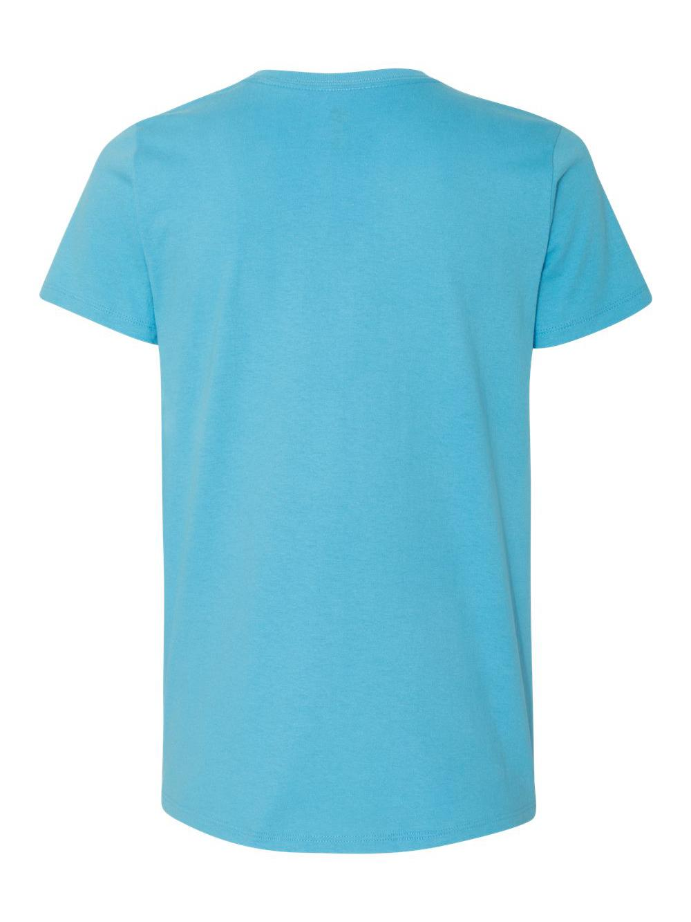 Hanes-Women-039-s-Tagless-V-Neck-T-Shirt-5780 thumbnail 4