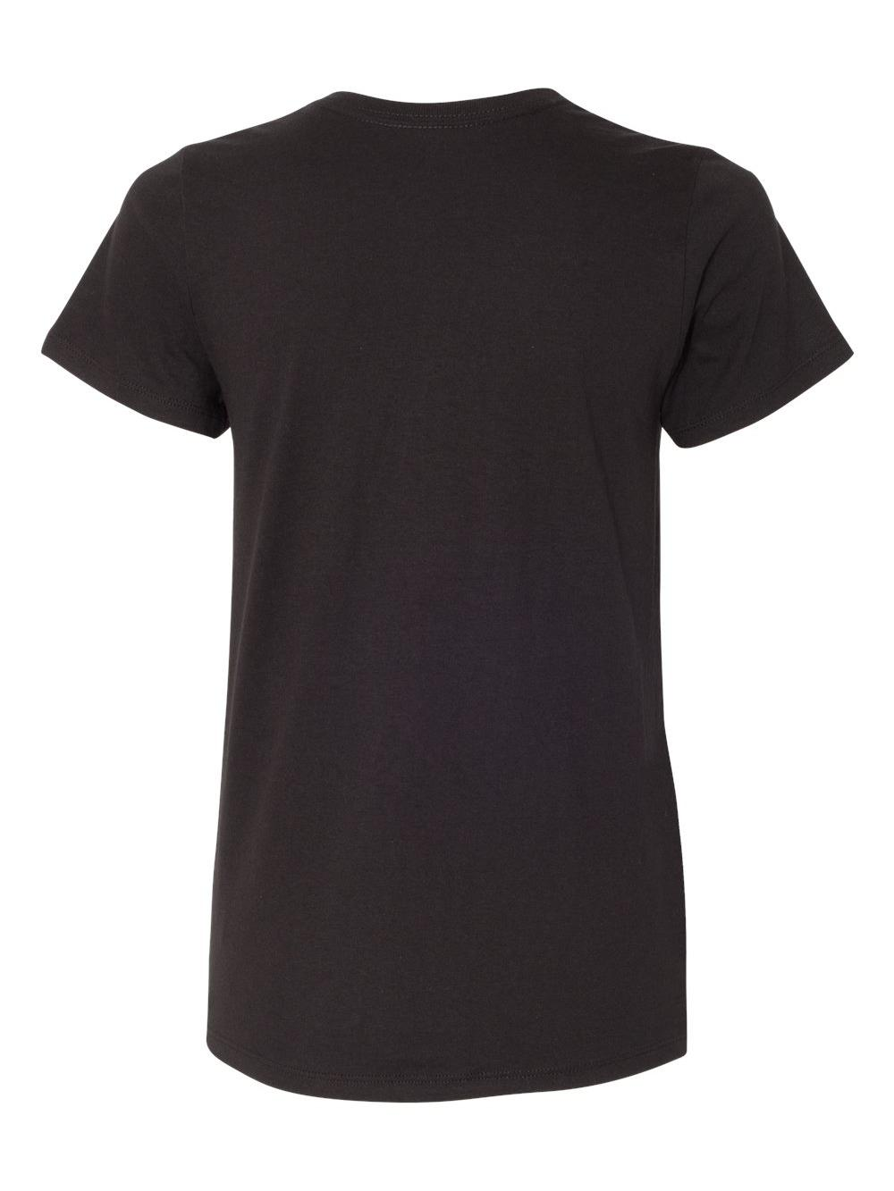 Hanes-Women-039-s-Tagless-V-Neck-T-Shirt-5780 thumbnail 7