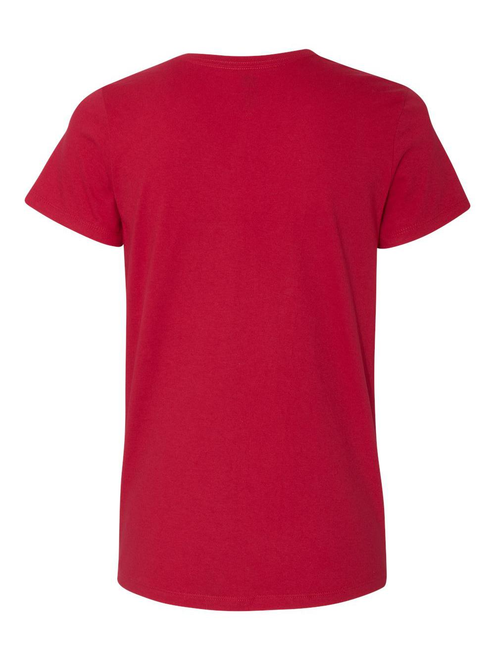 Hanes-Women-039-s-Tagless-V-Neck-T-Shirt-5780 thumbnail 13