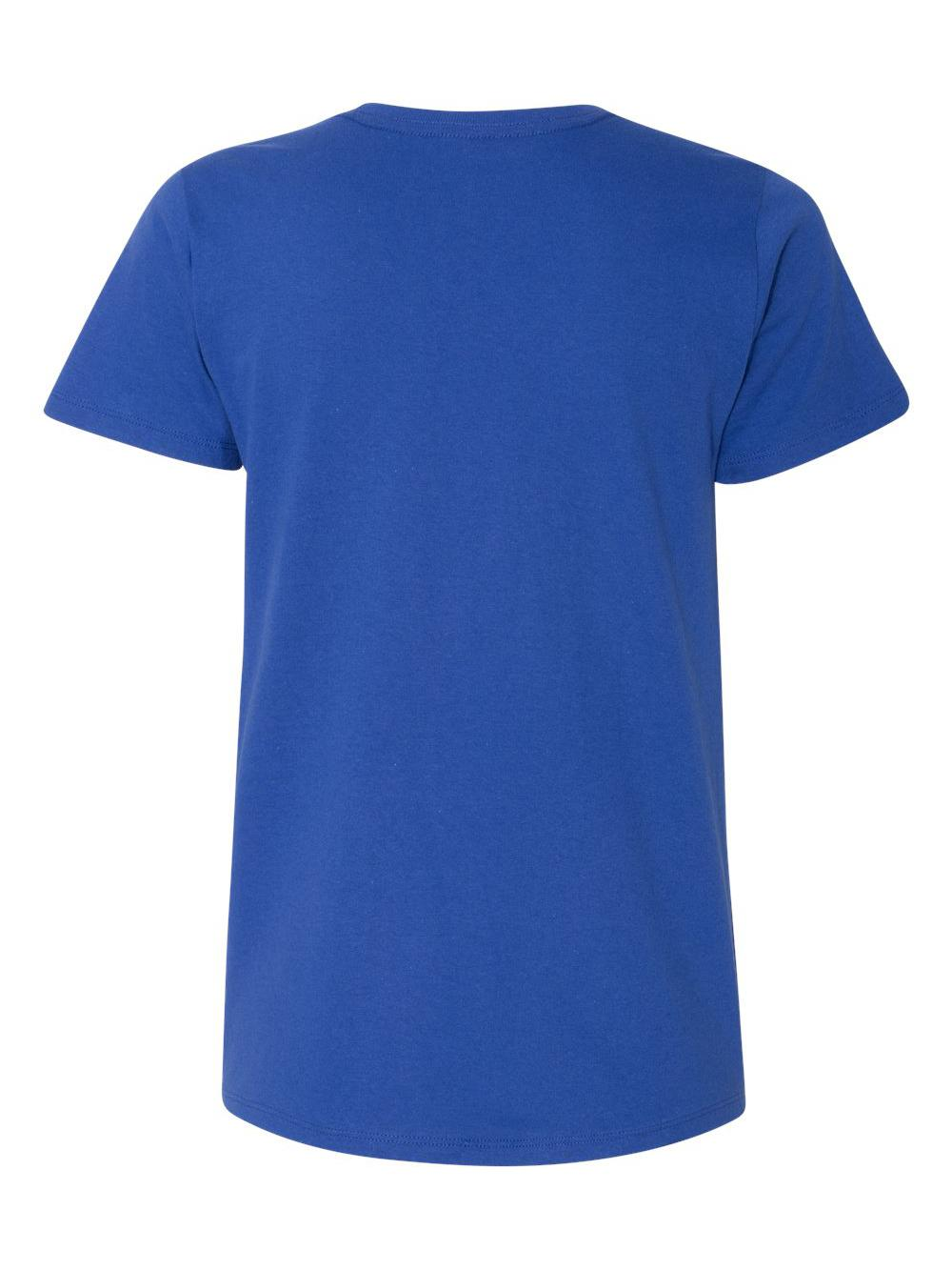 Hanes-Women-039-s-Tagless-V-Neck-T-Shirt-5780 thumbnail 16