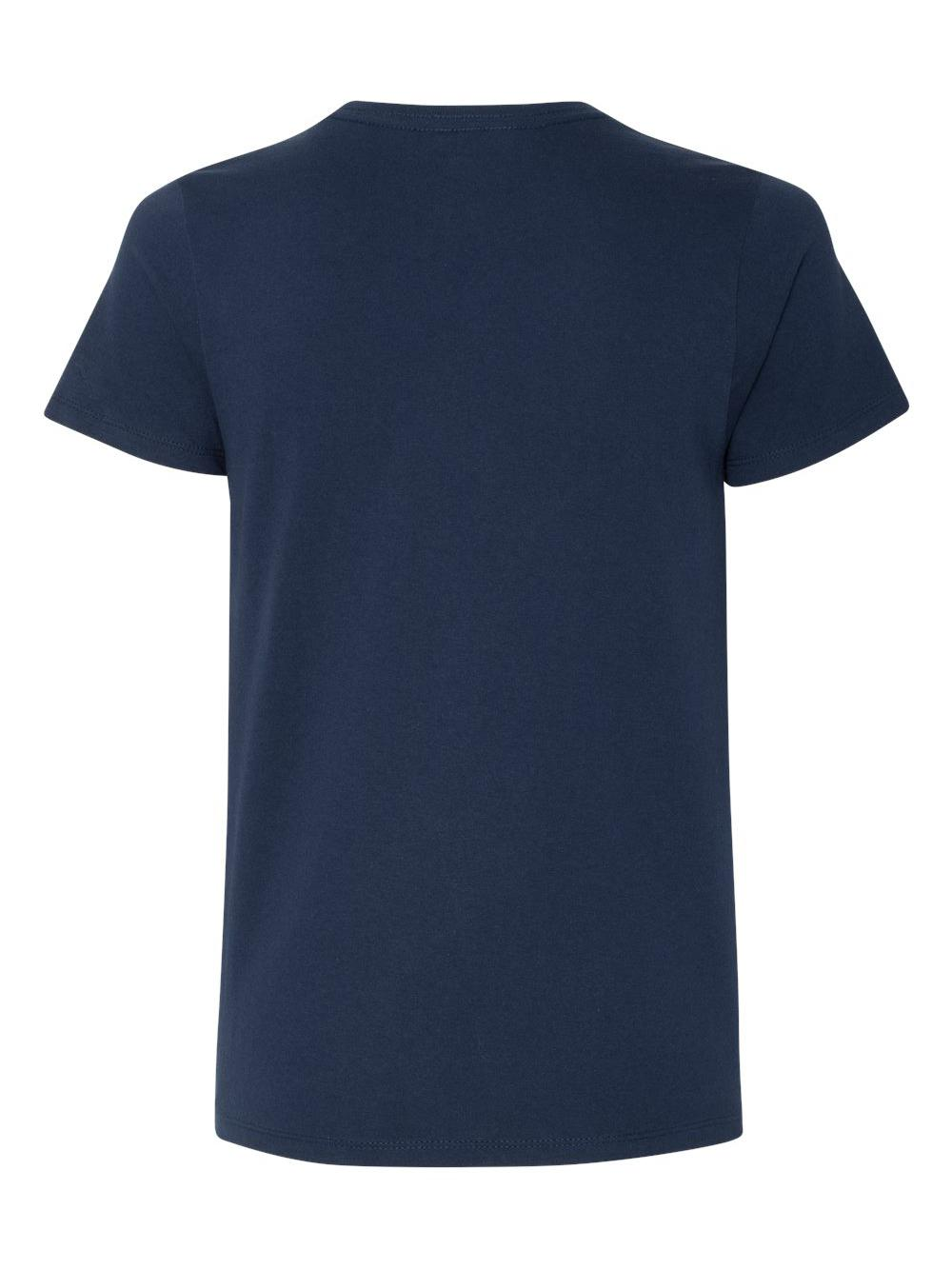 Hanes-Women-039-s-Tagless-V-Neck-T-Shirt-5780 thumbnail 22