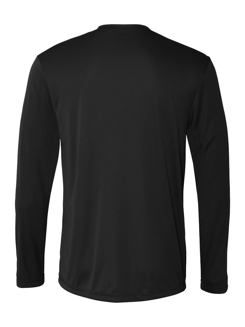 Hanes-Cool-Dri-Long-Sleeve-Performance-T-Shirt-482L thumbnail 4