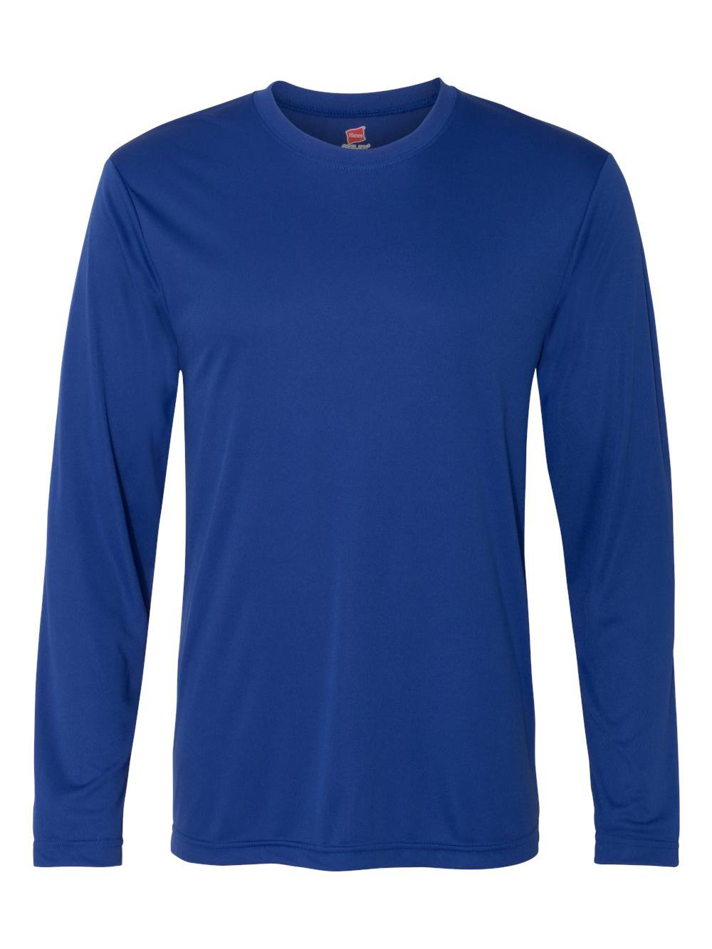 Hanes-Cool-Dri-Long-Sleeve-Performance-T-Shirt-482L thumbnail 9