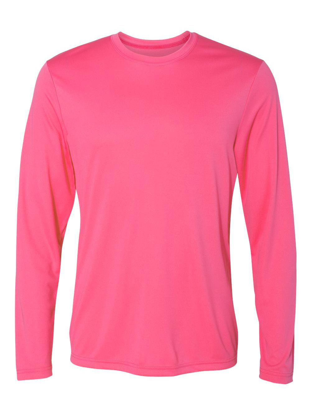 Hanes-Cool-Dri-Long-Sleeve-Performance-T-Shirt-482L thumbnail 21