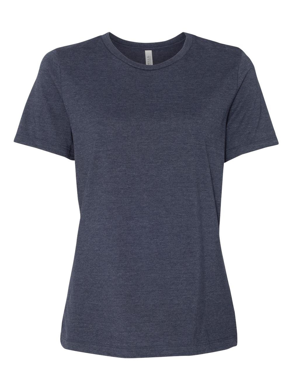 Bella-Canvas-Women-039-s-Relaxed-Short-Sleeve-Jersey-Tee-6400 thumbnail 39