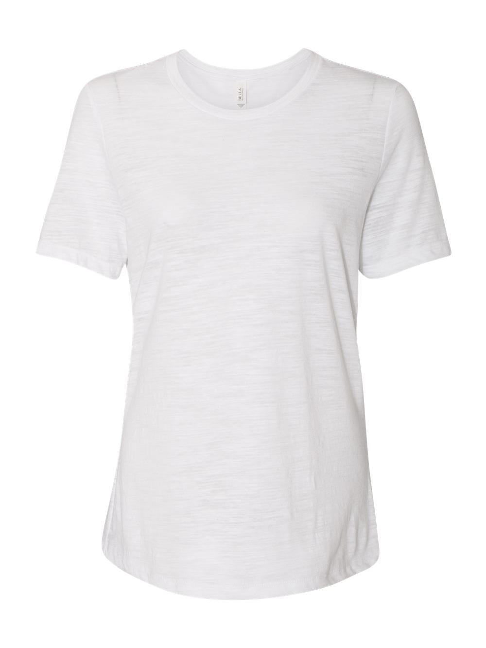 Bella-Canvas-Women-039-s-Relaxed-Short-Sleeve-Jersey-Tee-6400 thumbnail 96