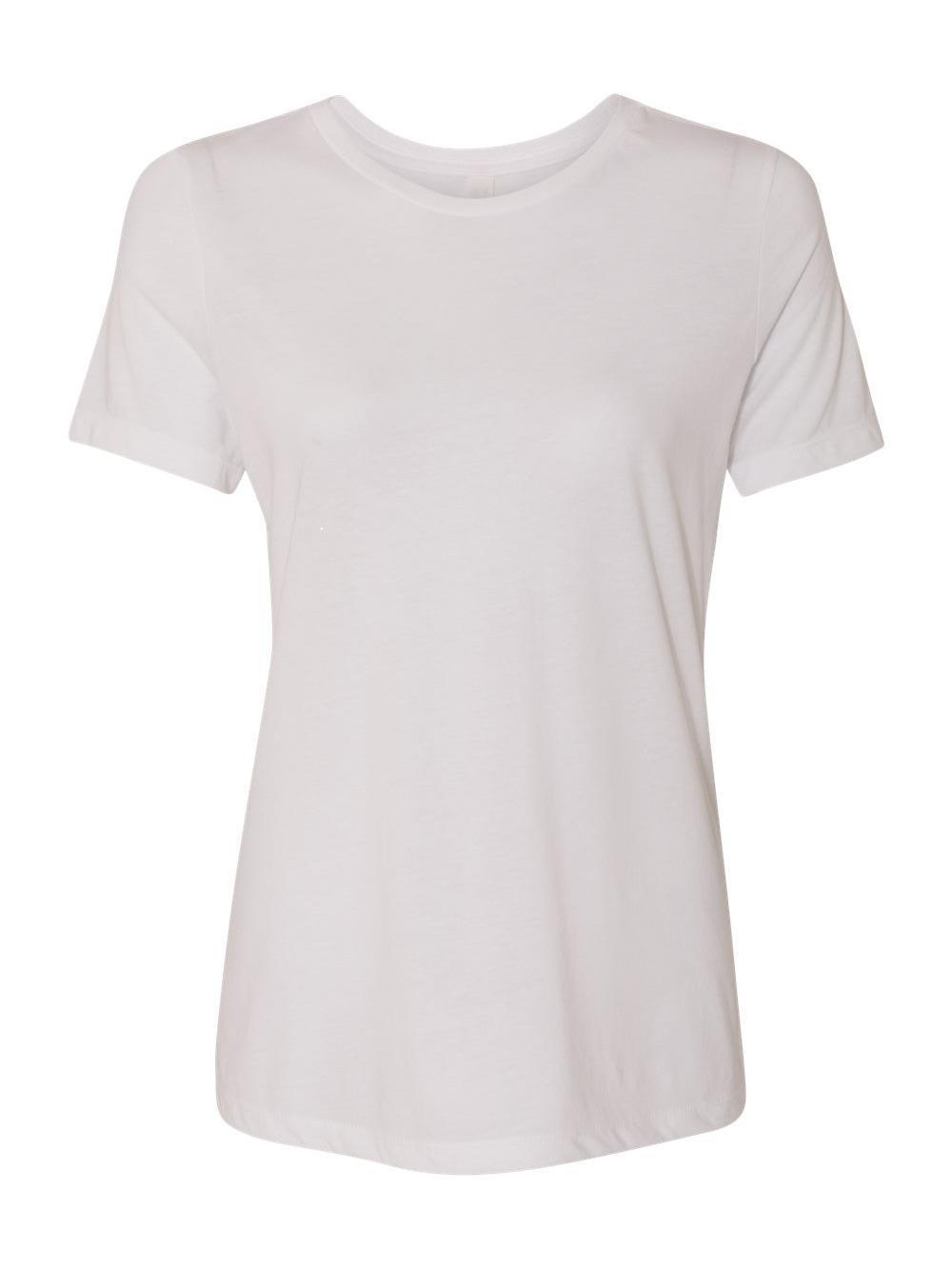 Bella-Canvas-Women-039-s-Relaxed-Short-Sleeve-Jersey-Tee-6400 thumbnail 84