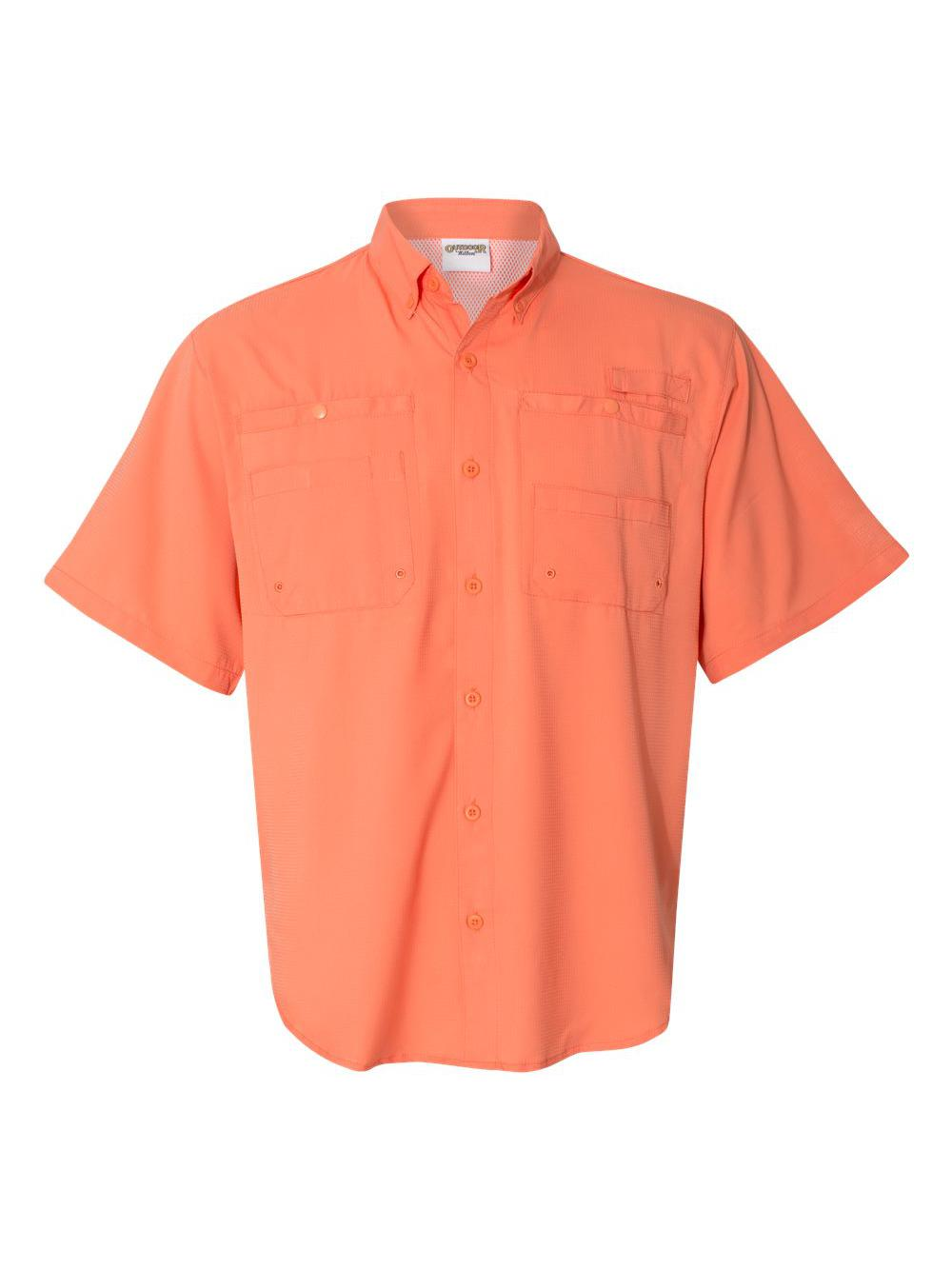 Hilton-Baja-Short-Sleeve-Fishing-Shirt-ZP2297 thumbnail 3