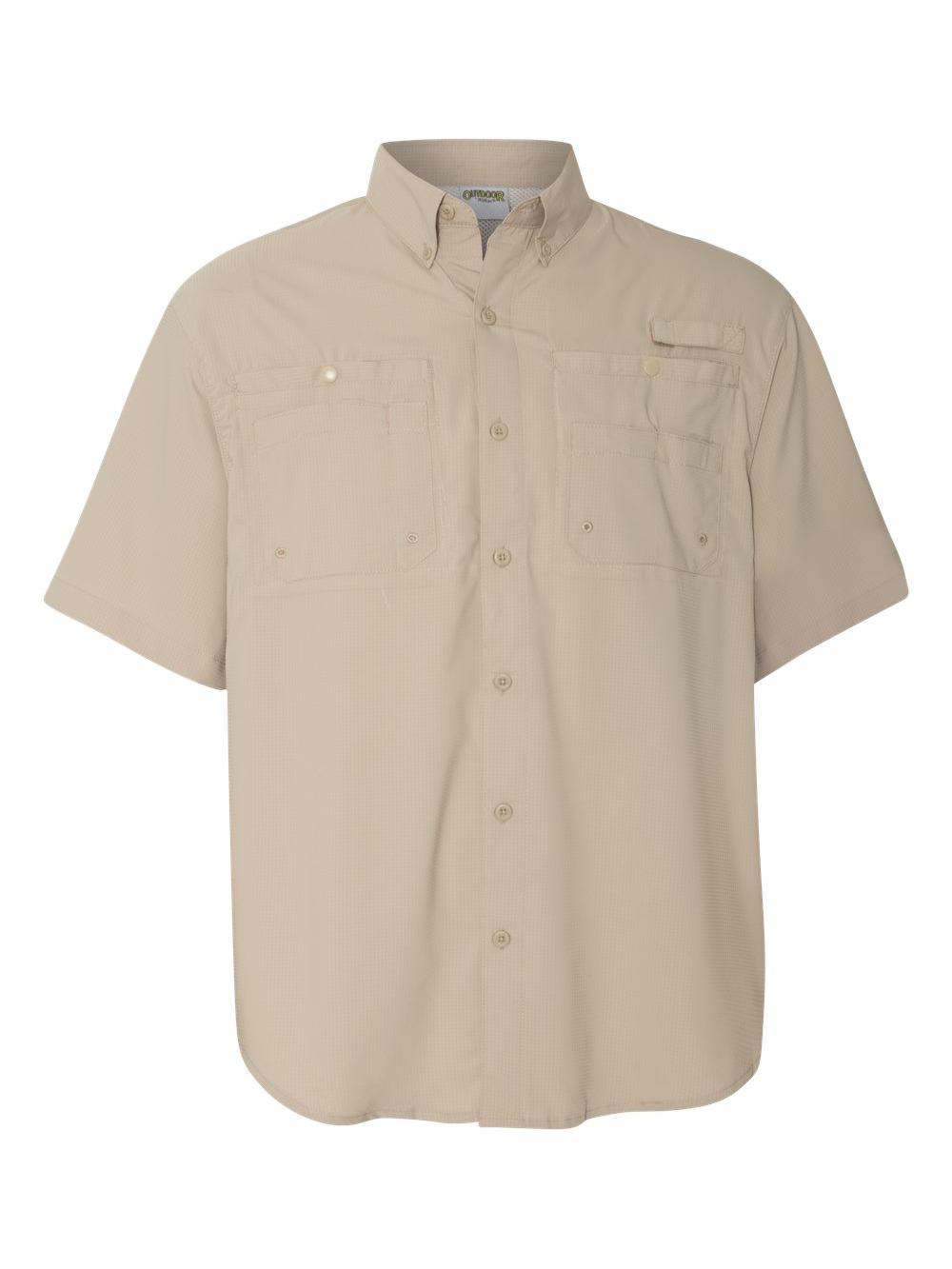 Hilton-Baja-Short-Sleeve-Fishing-Shirt-ZP2297 thumbnail 6